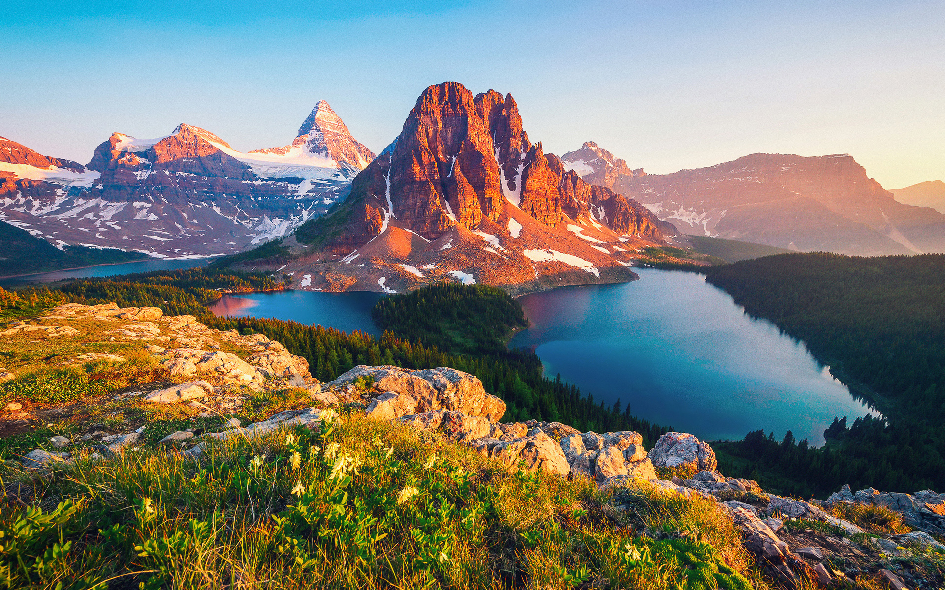 HD Wallpapers Columbia Lake Canada