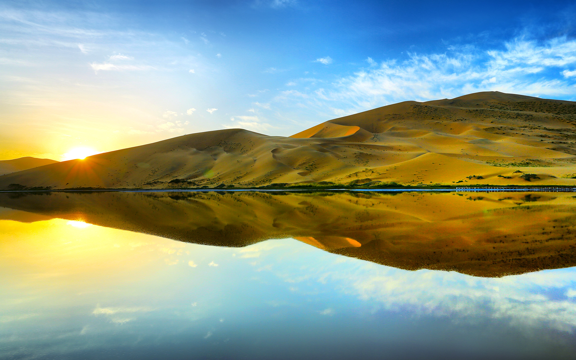 HD Wallpapers Desert Reflections