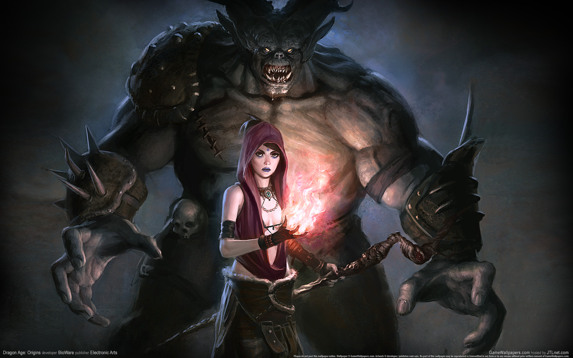 HD Wallpapers Dragon Age Origins