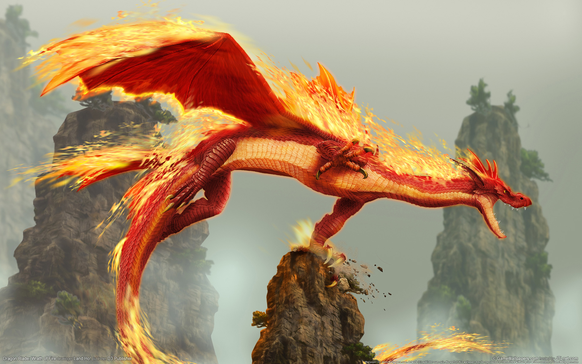 HD Wallpapers Dragon Blade Wrath of Fire