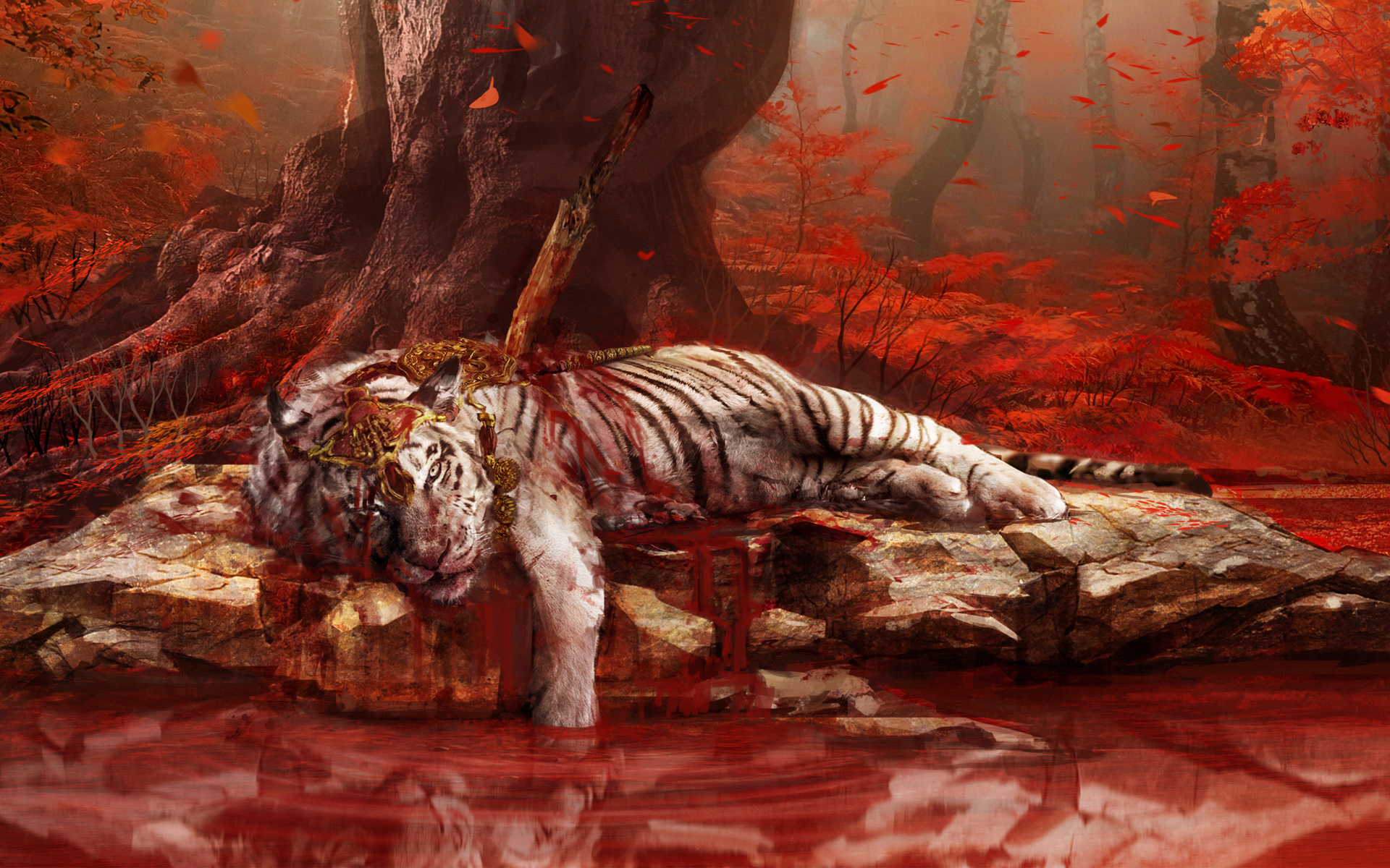 HD Wallpapers Far Cry 4 Dead Tiger