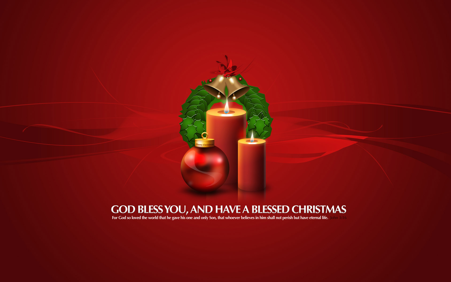 HD Wallpapers God Bless You Christmas Gifts
