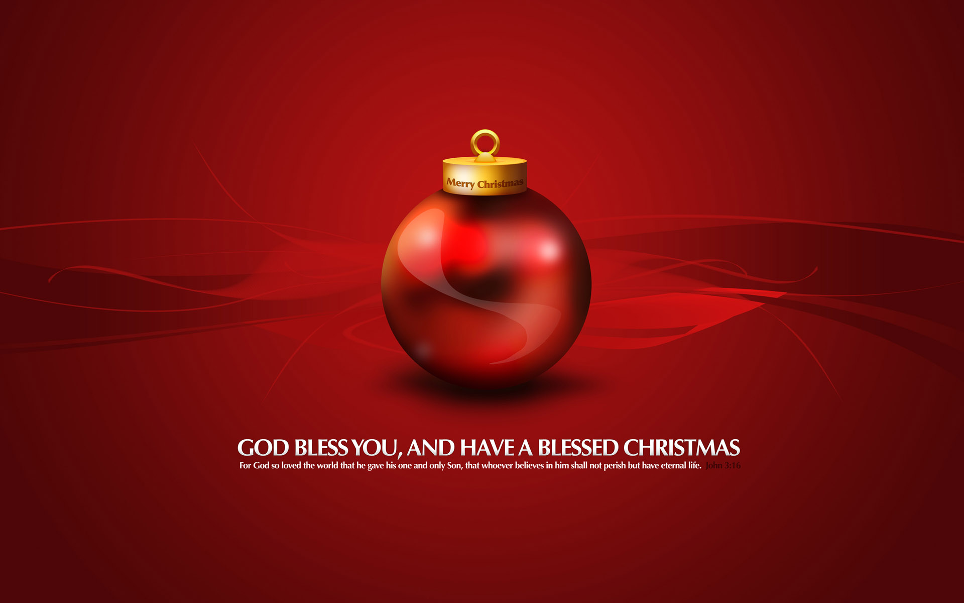 HD Wallpapers God Bless You Merry Chirstmas