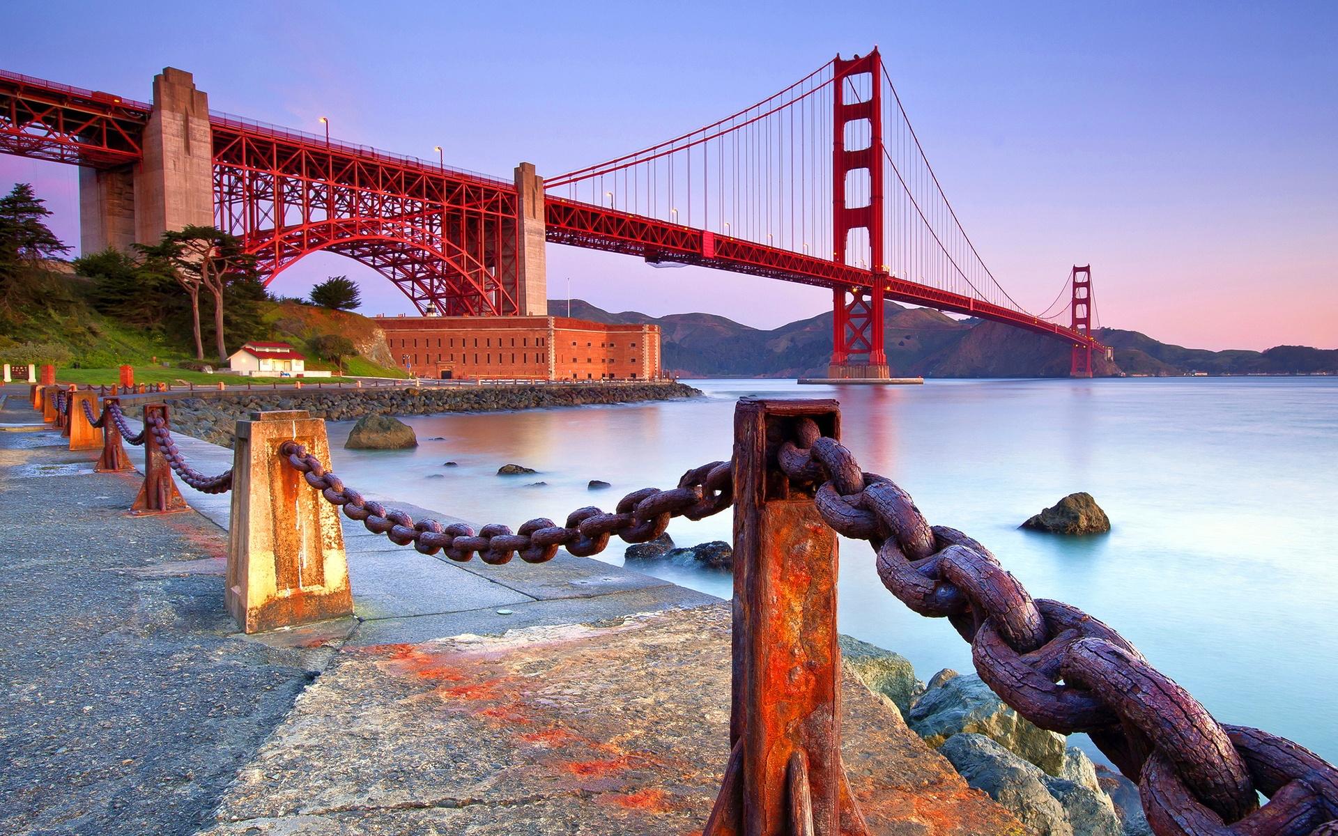 HD Wallpapers Golden Gate Bridge Coast