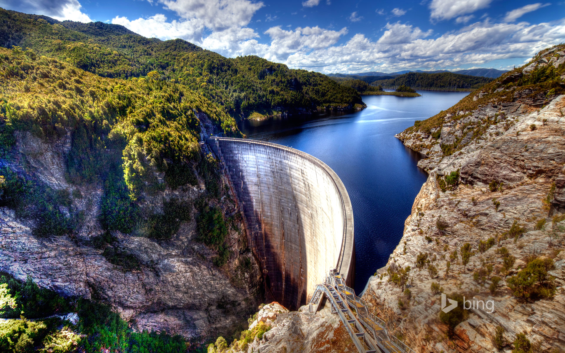 HD Wallpapers Gordon Dam Tasmania Australia