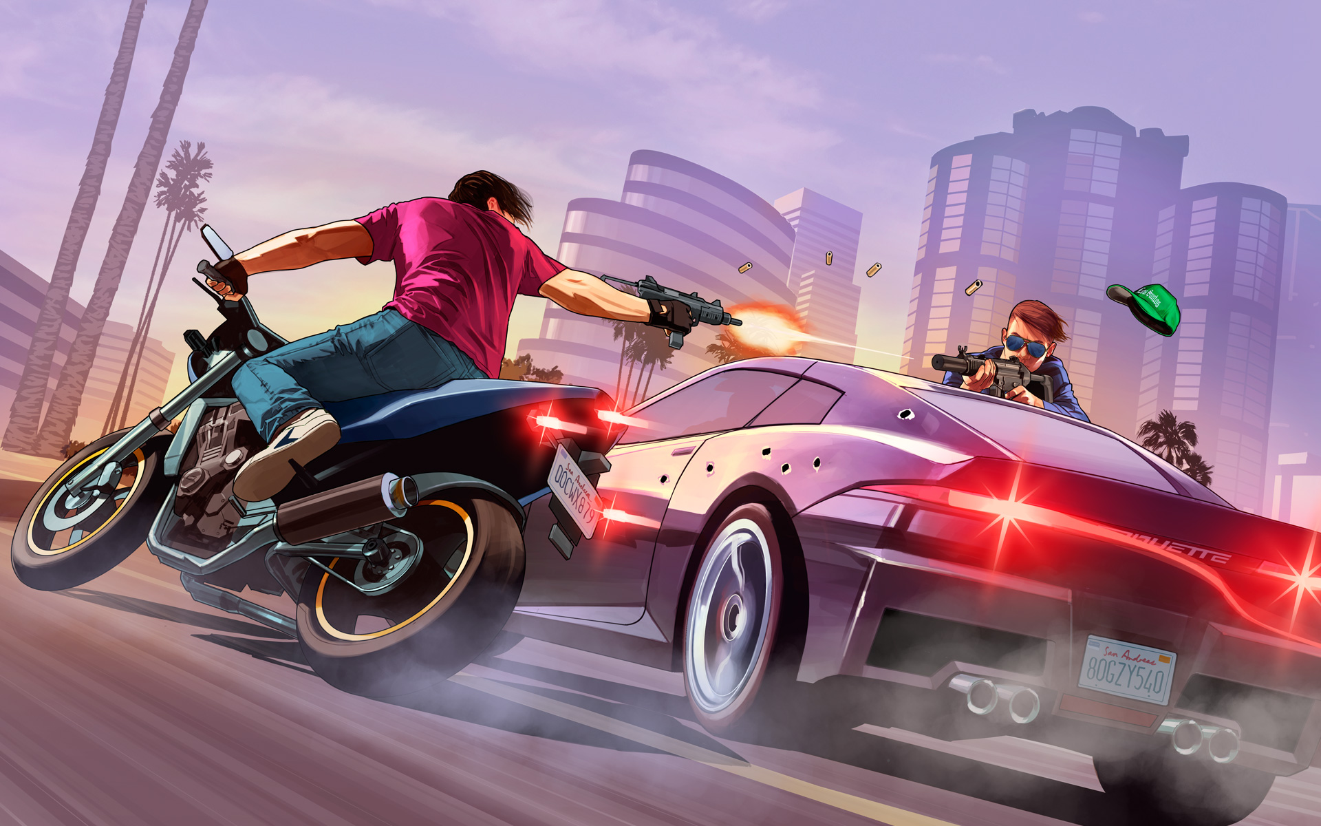 HD Wallpapers GTA 5 Street Fight