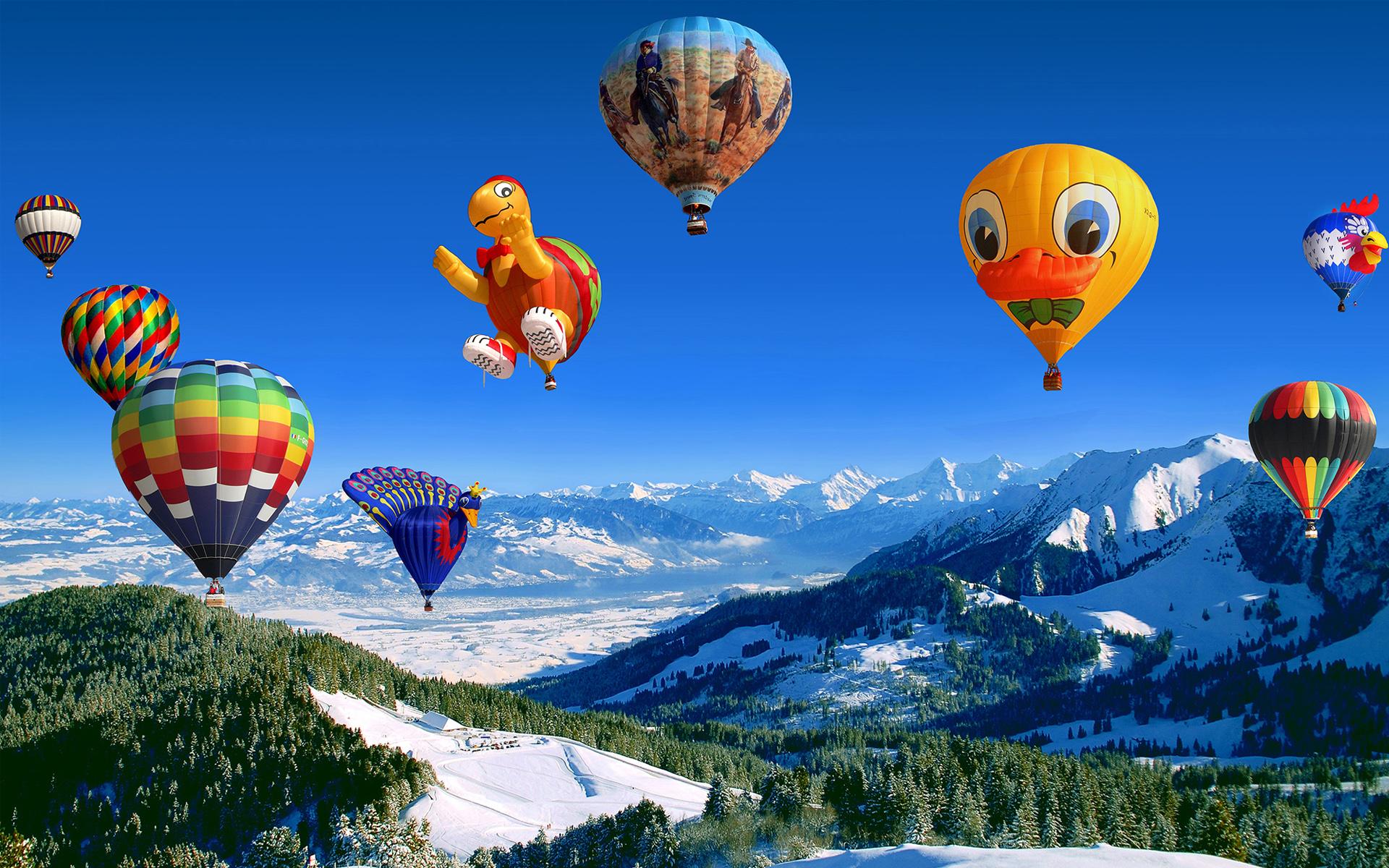 HD Wallpapers Hot Air Balloon Festival