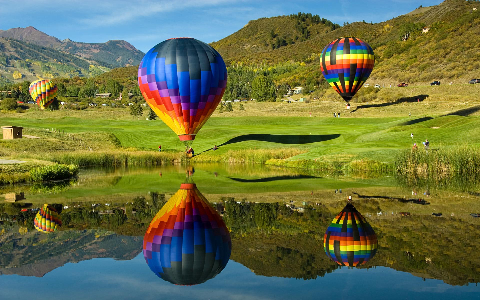 HD Wallpapers Hot Air Balloons