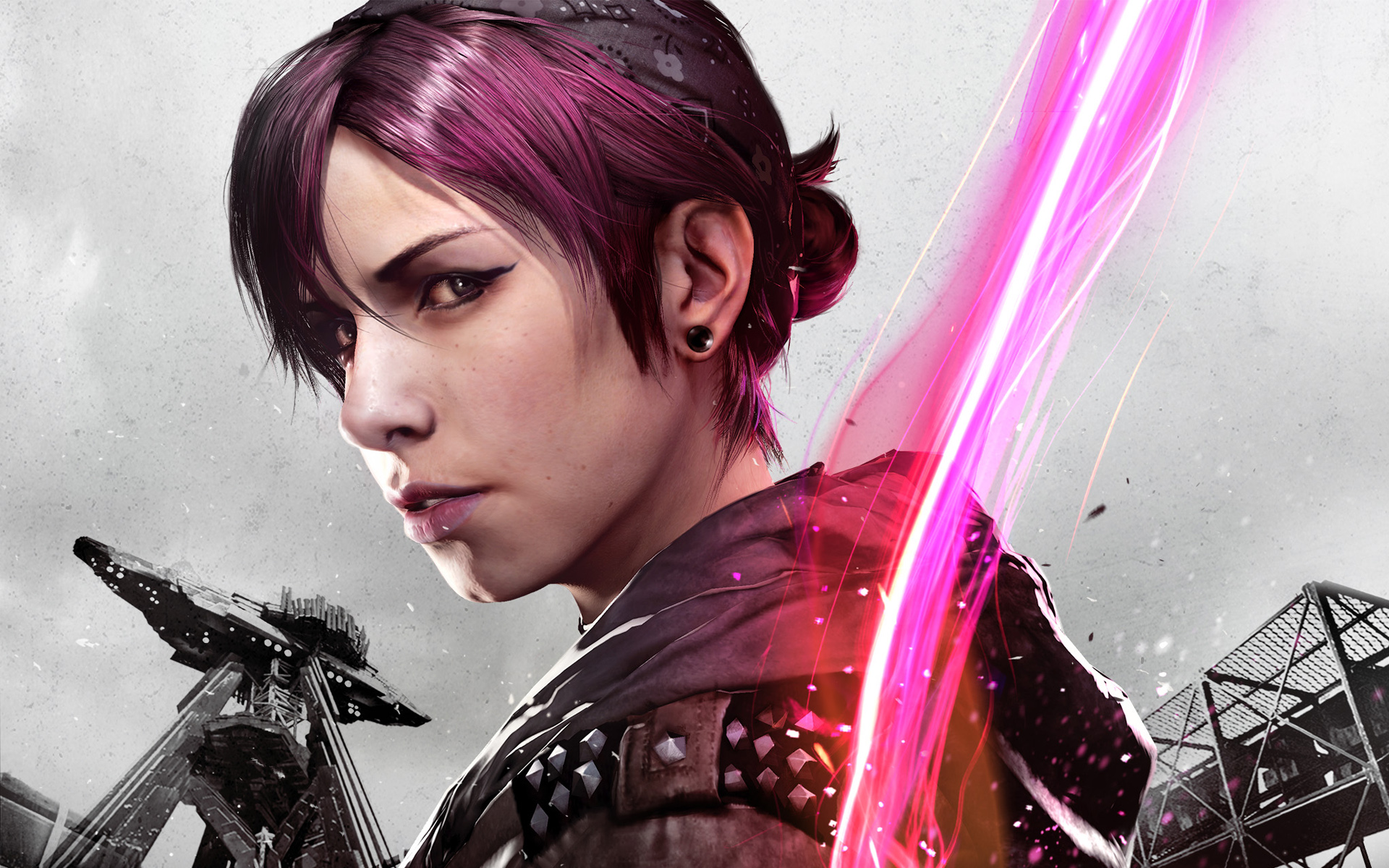 HD Wallpapers inFAMOUS First Light