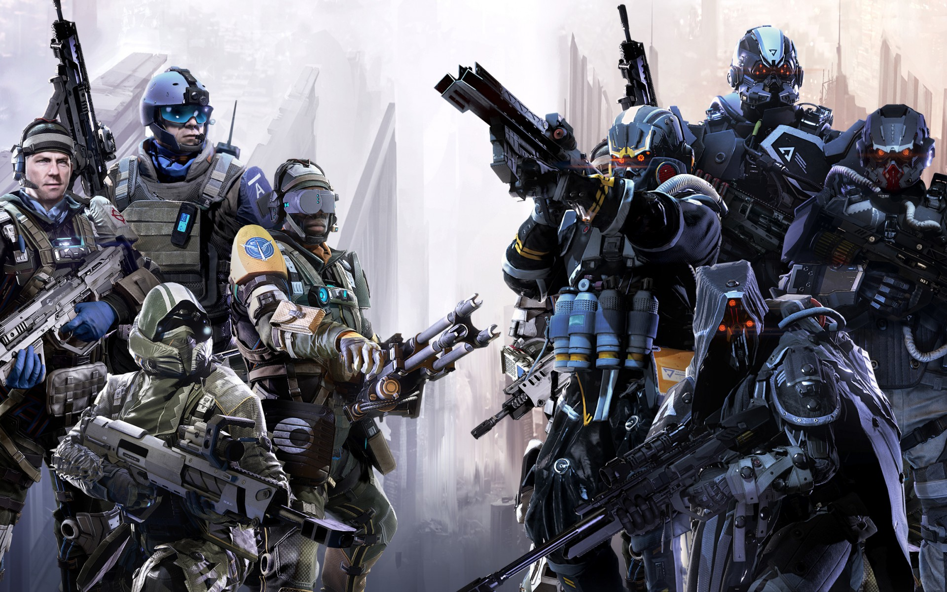 HD Wallpapers Killzone Shadow Fall Multiplayer