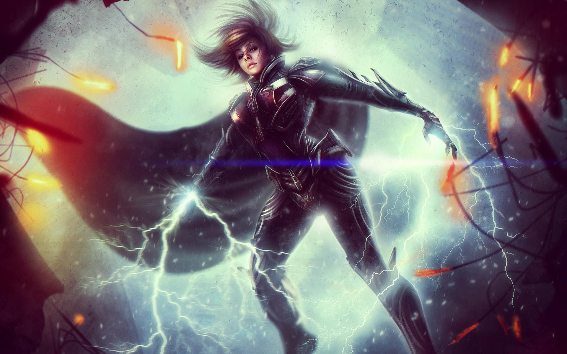 HD Wallpapers Kyla DC Universe Online