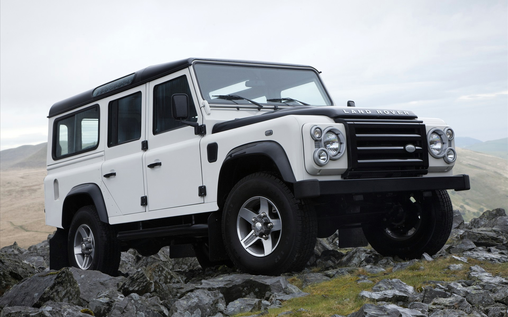 HD Wallpapers L Rover Defender Fire Ice Editions 3