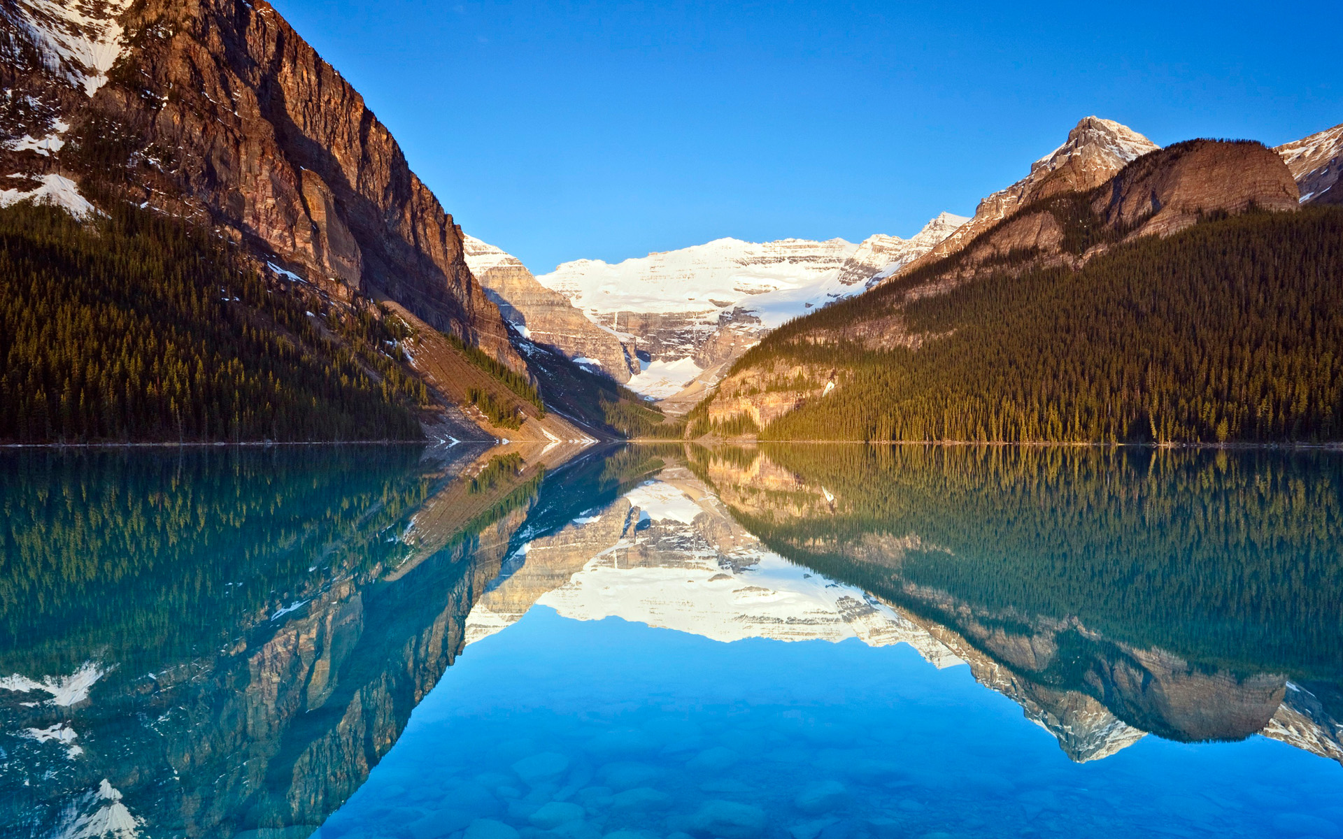 HD Wallpapers Lake Louise Reflections