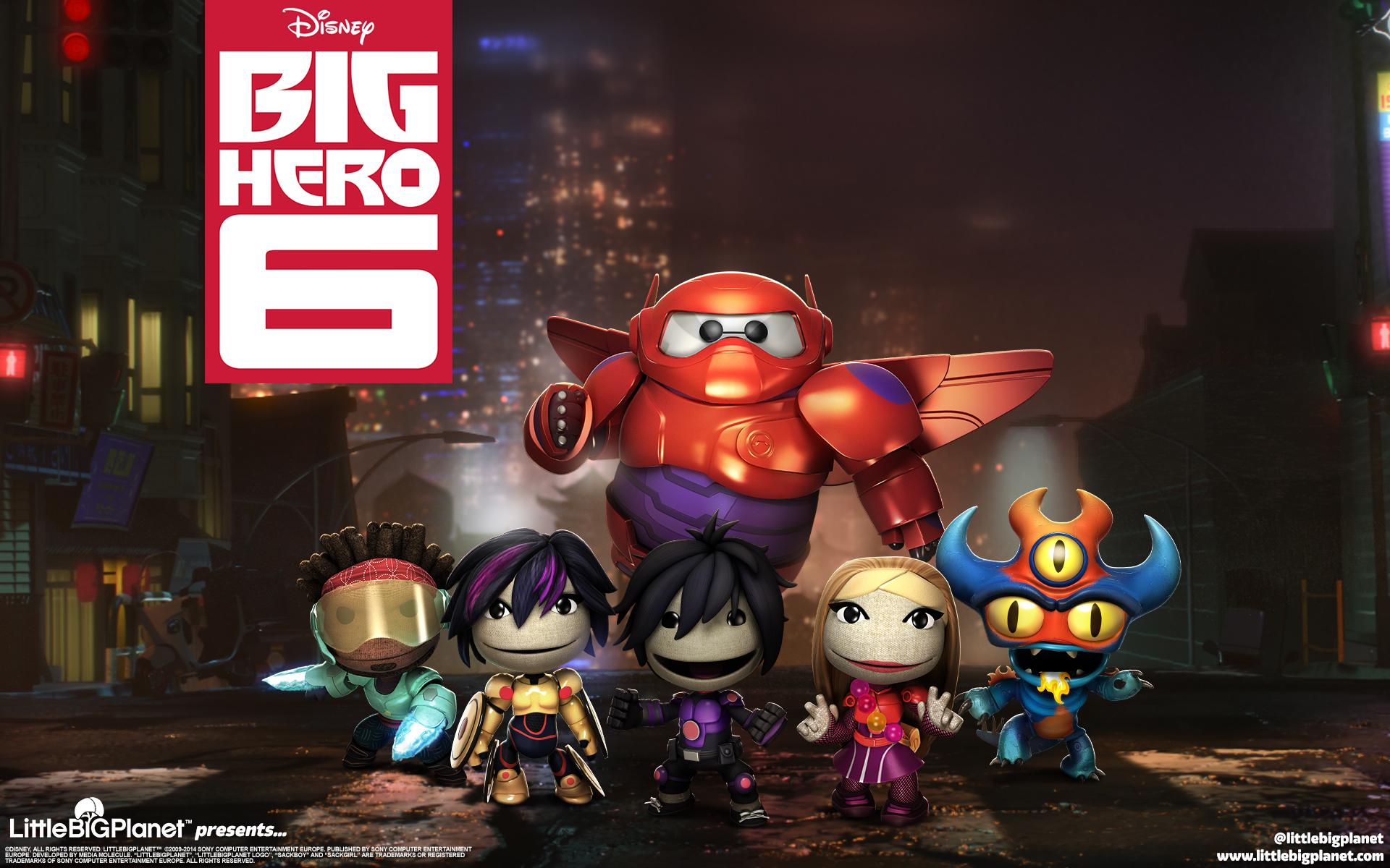 HD Wallpapers LittleBigPlanet Big Hero 6
