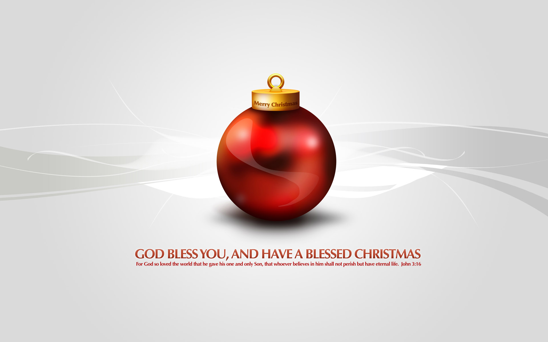 HD Wallpapers Merry Christmas God Bless You