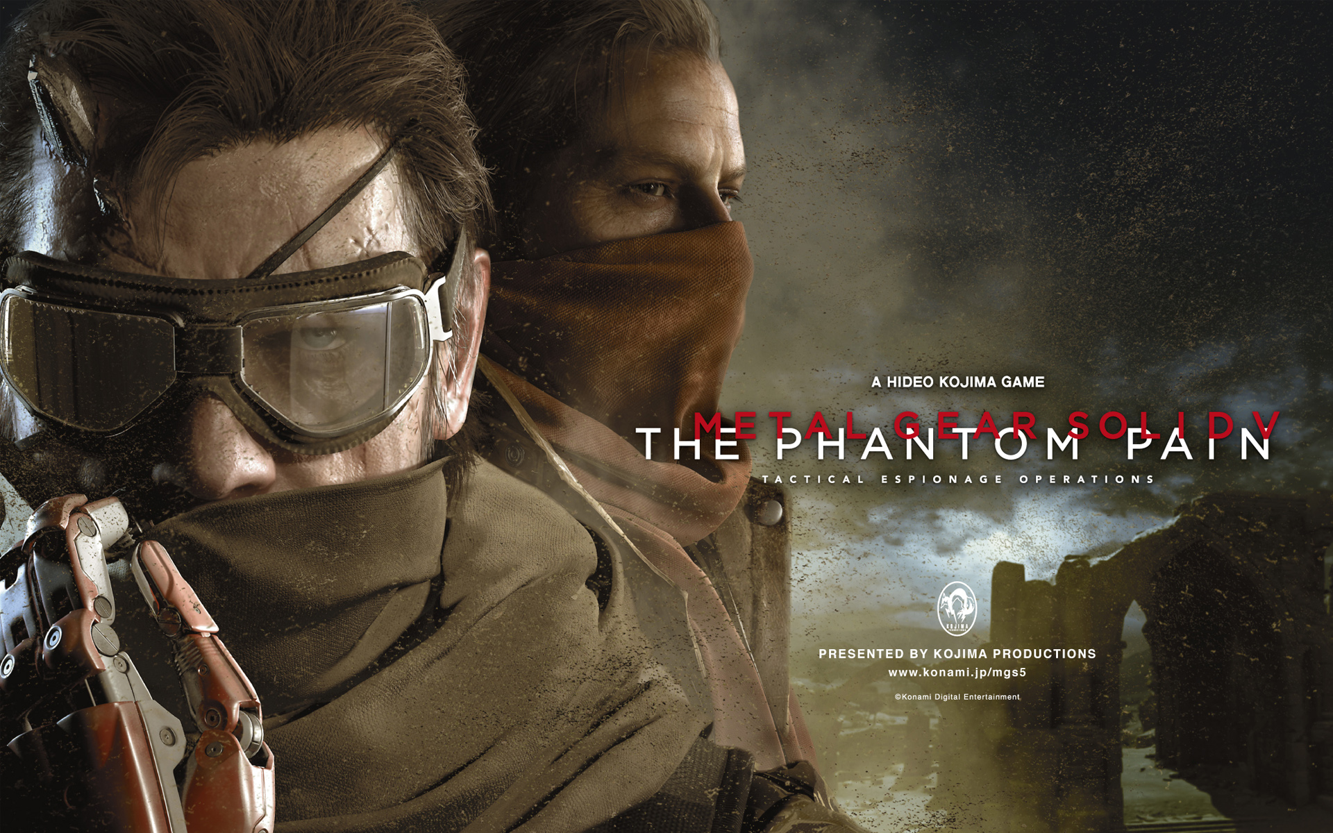 HD Wallpapers Metal Gear Solid V The Phantom Pain