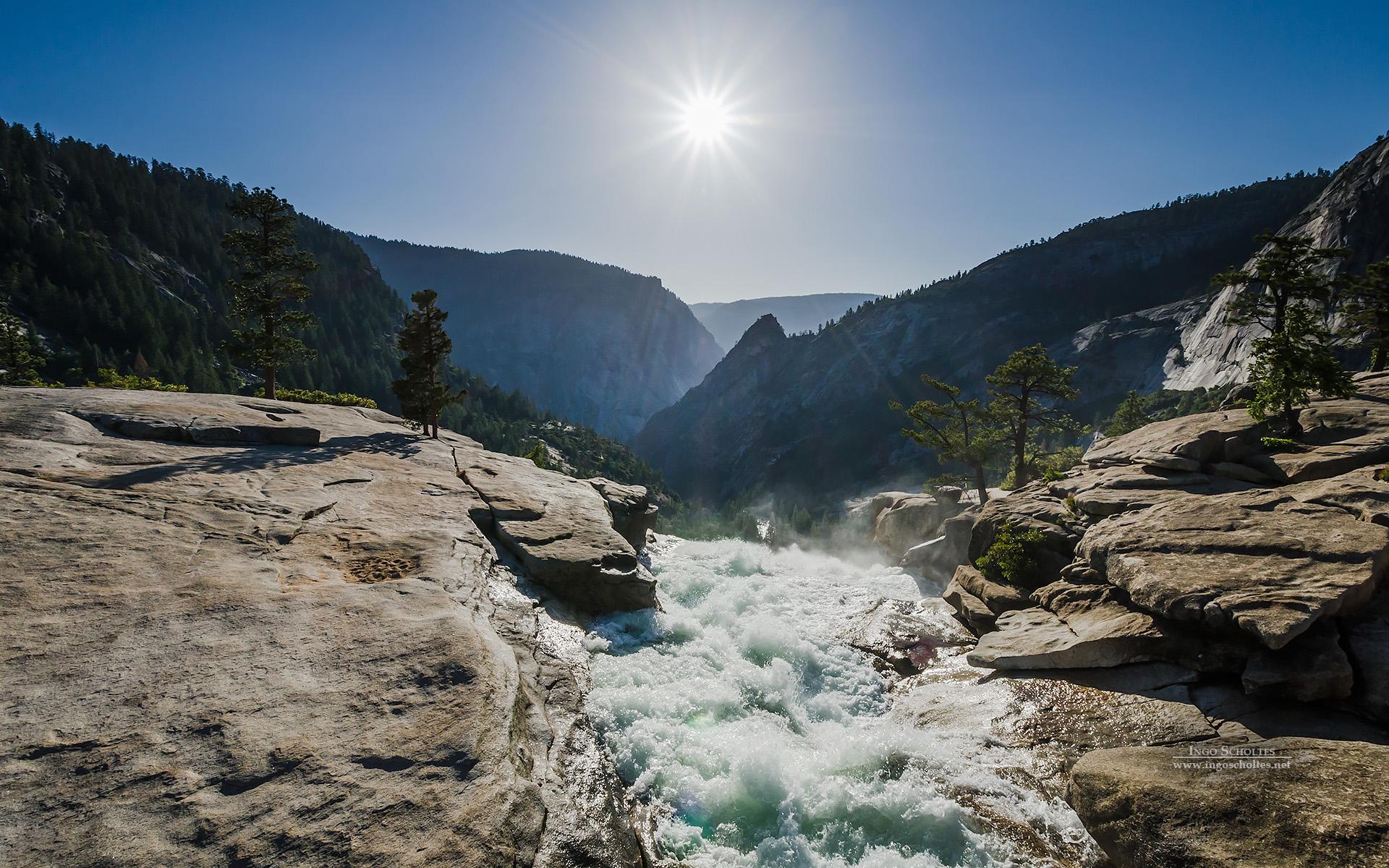 HD Wallpapers Nevada Fall Yosemite National Park