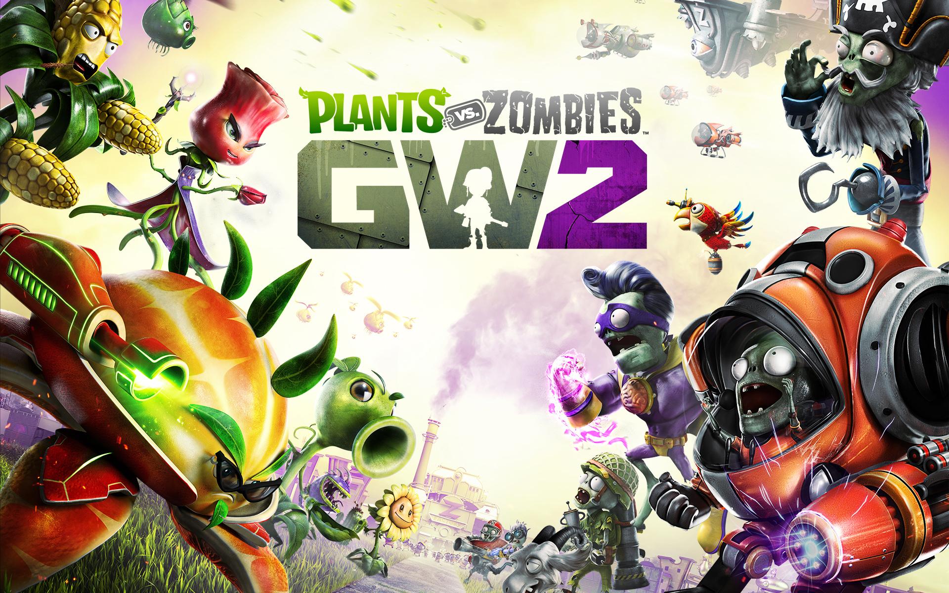 HD Wallpapers Plants vs Zombies Garden Warfare 2