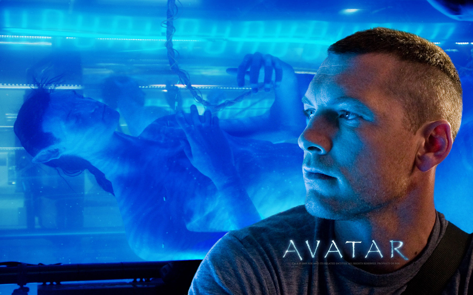HD Wallpapers Sam Worthington in Avatar