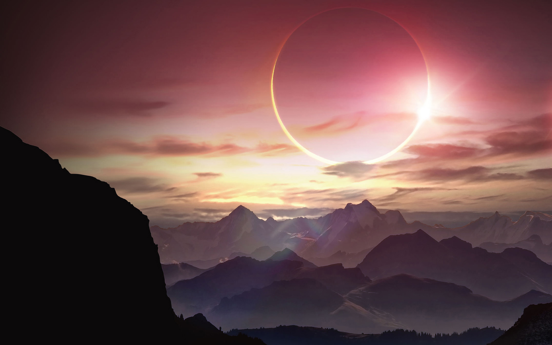HD Wallpapers Solar Eclipse