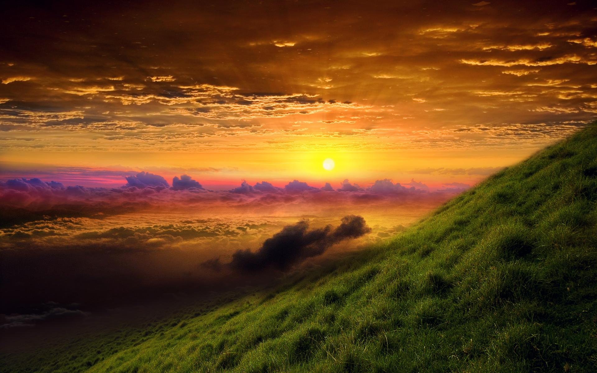 HD Wallpapers Sunrise Glory
