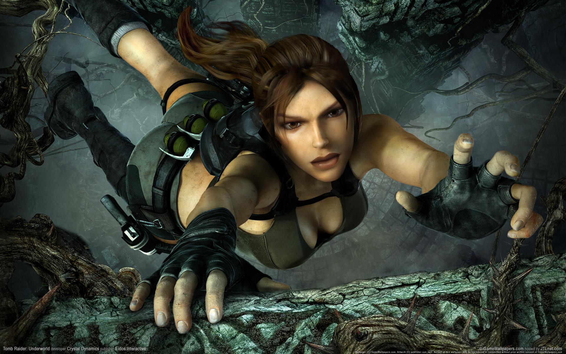 HD Wallpapers Tomb Raider Underworld