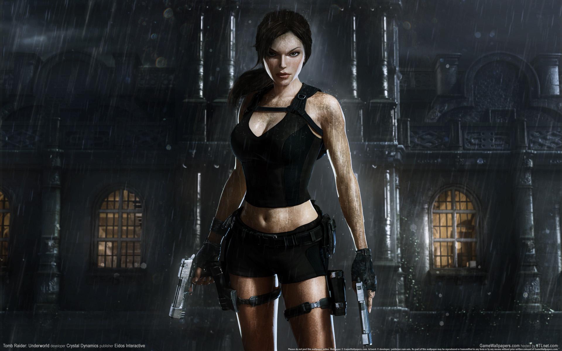 HD Wallpapers Tomb Raider Underworld Game