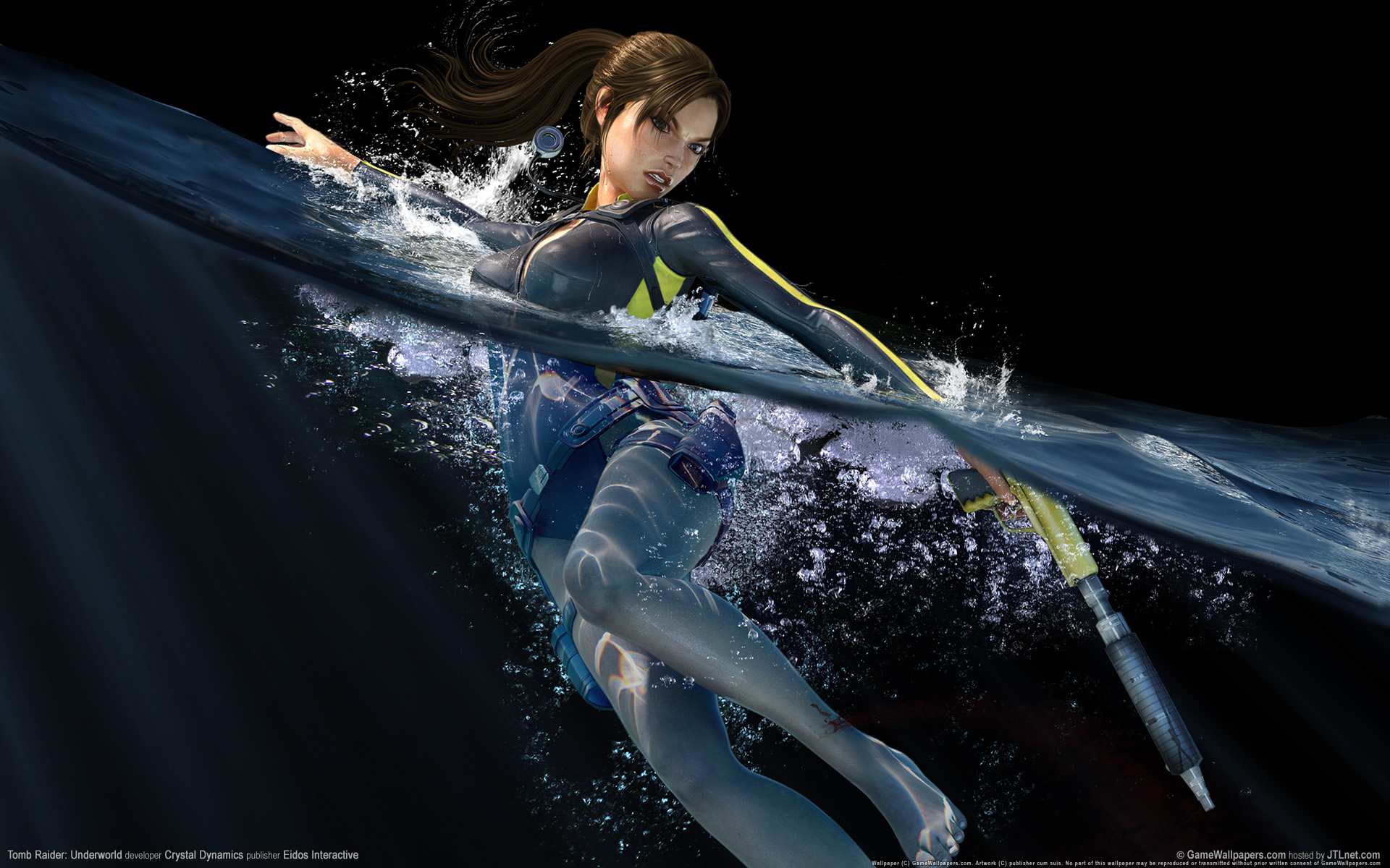 HD Wallpapers Tomb Raider Underworld Game HD