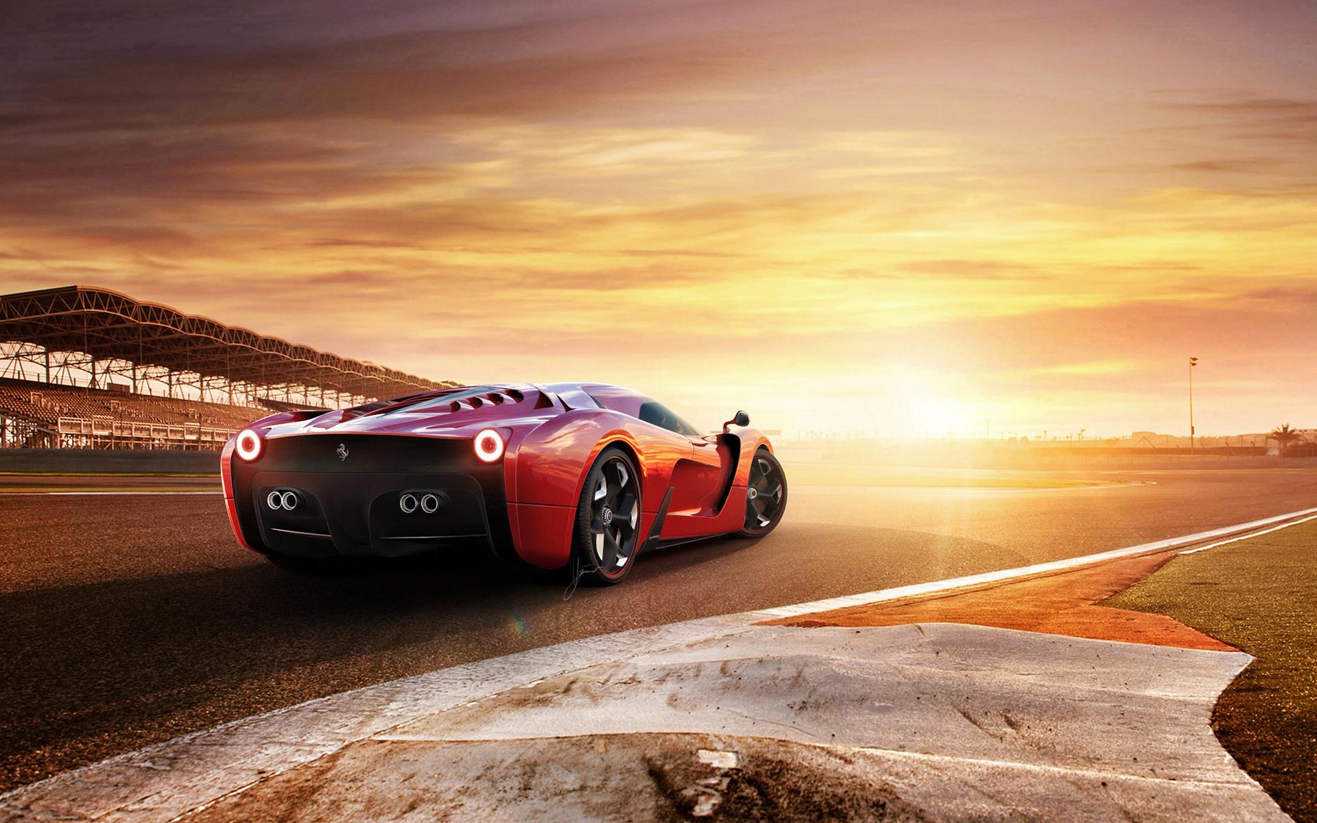 HD Wallpapers Ugur Sahin Design Project F Ferrari 458 Concept