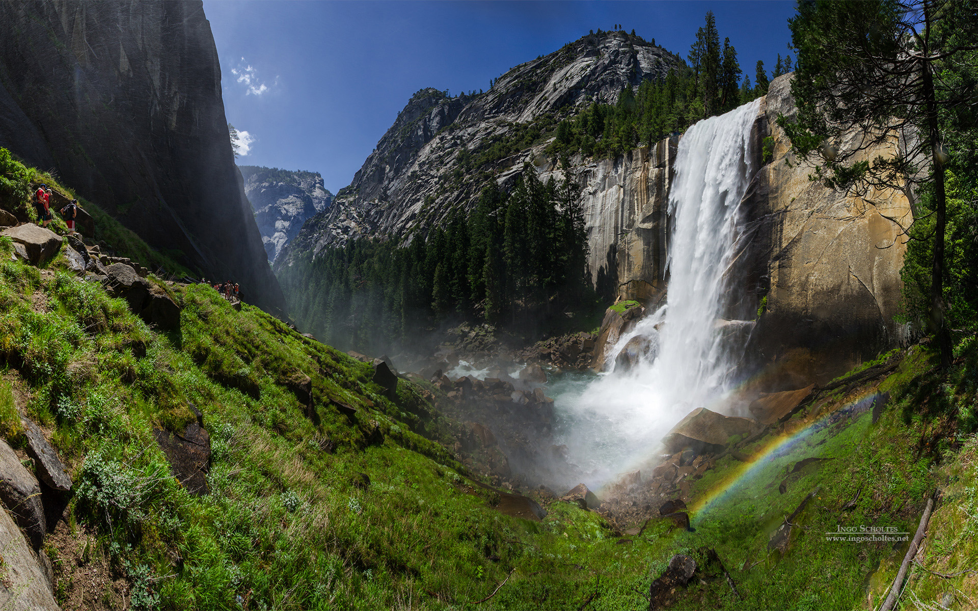 HD Wallpapers Vernal Fall Yosemite National Park