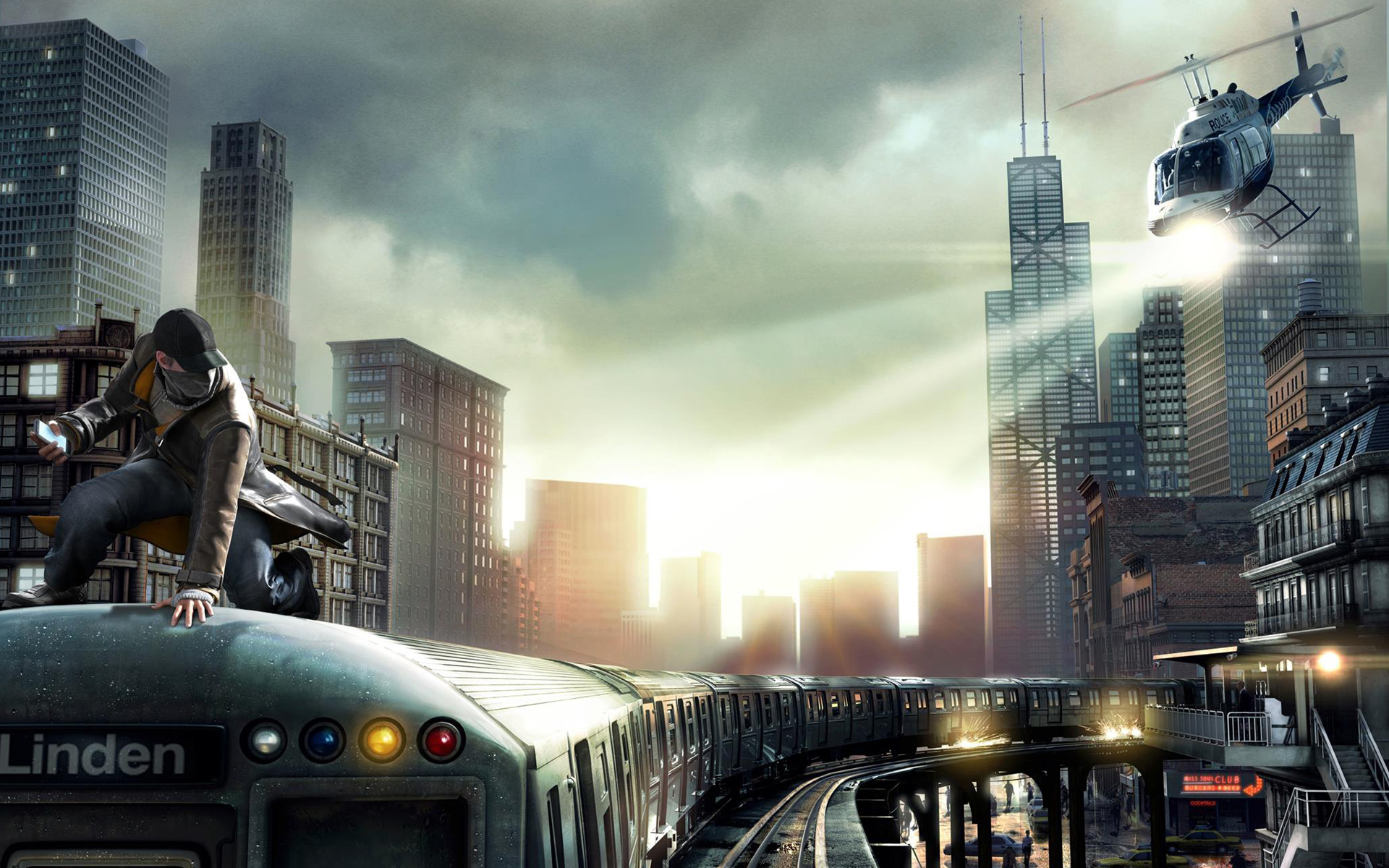 HD Wallpapers Watch Dogs PS4 Game