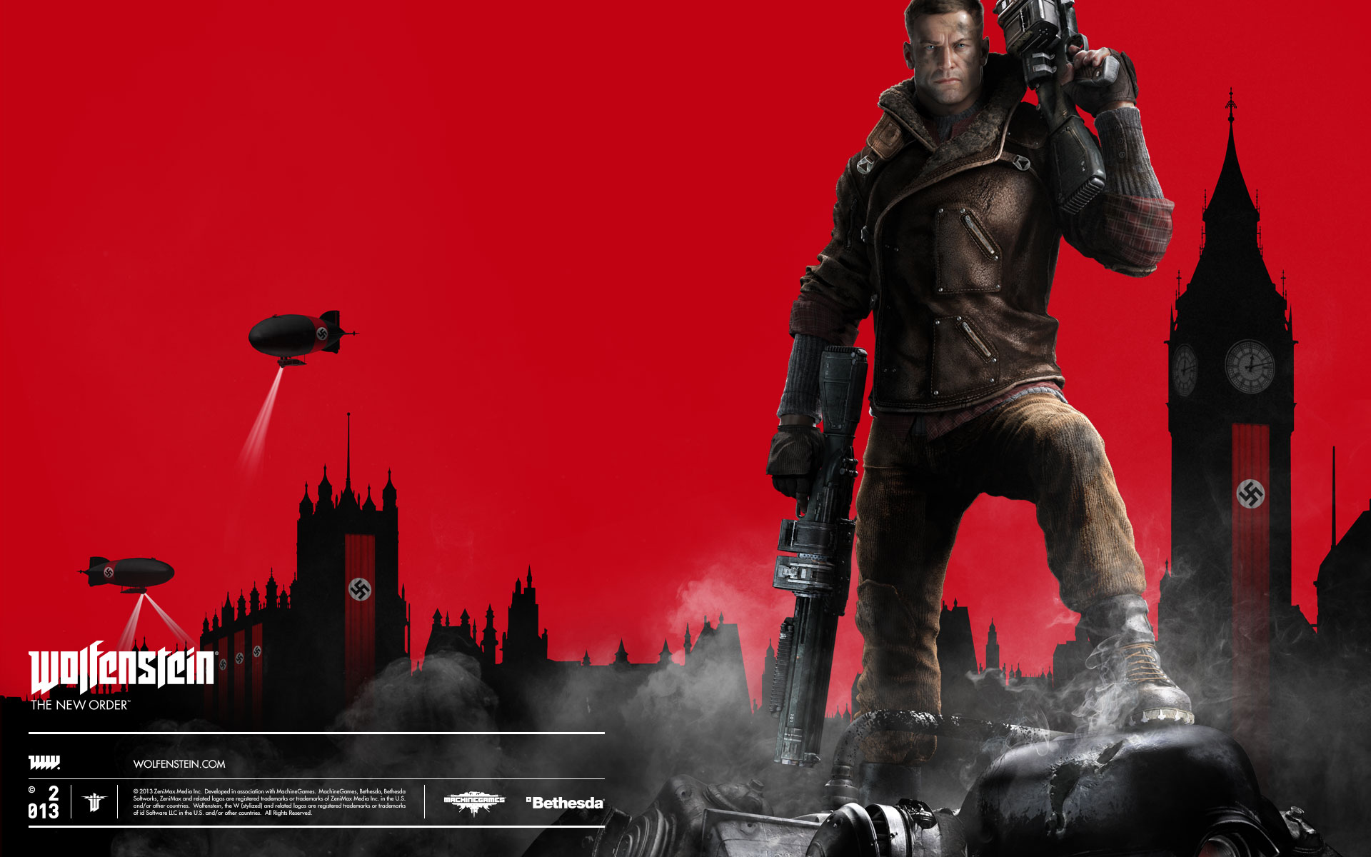 HD Wallpapers Wolfenstein The New Order Video Game