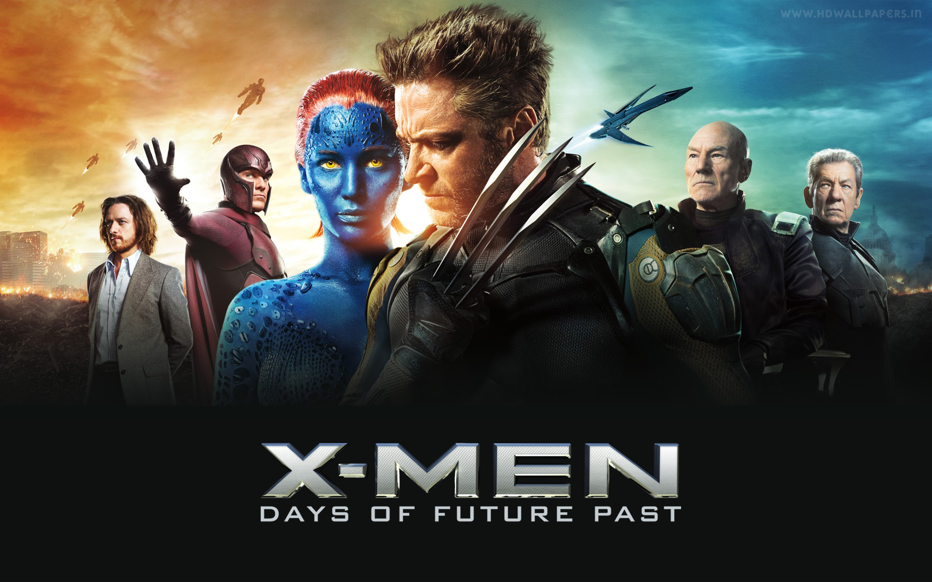 HD Wallpapers X Men Days of Future Past Banner