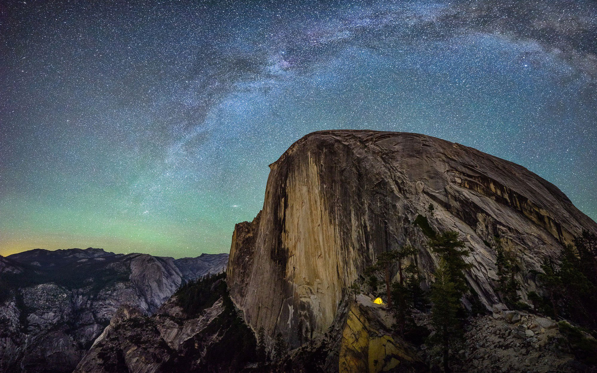 HD Wallpapers Yosemite Camp