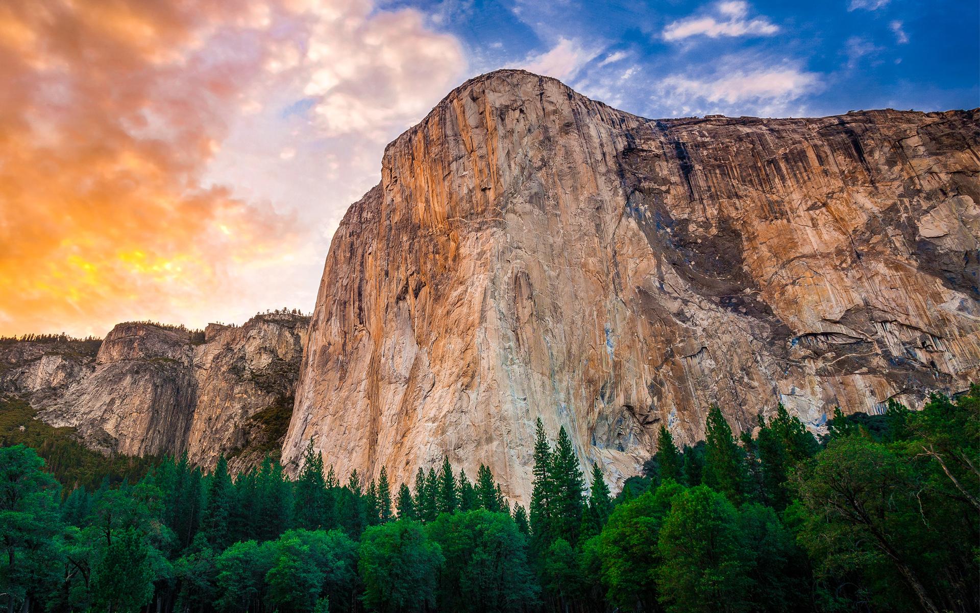 HD Wallpapers Yosemite Mountains