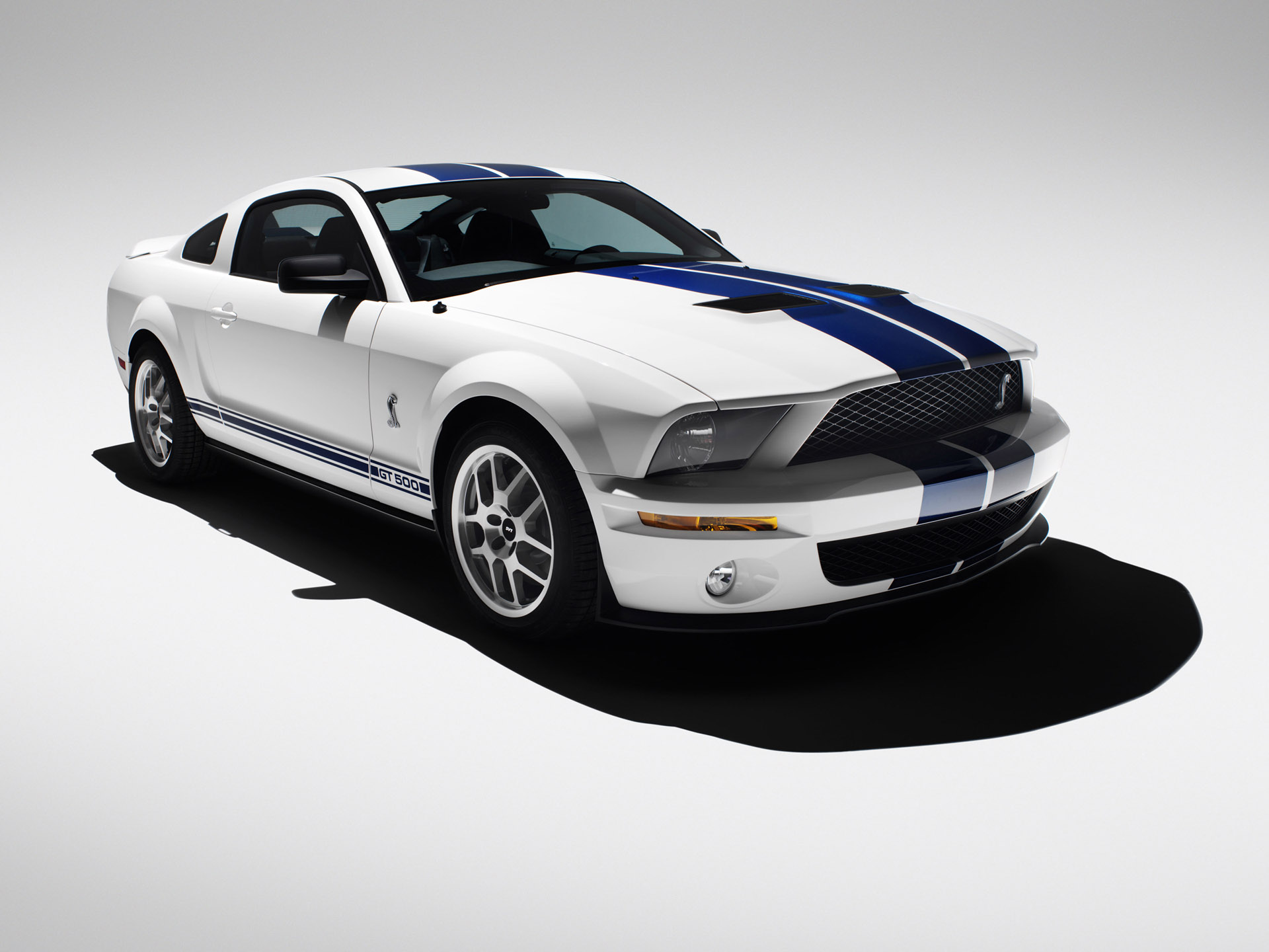 HD Wallpapers 2007 Ford Shelby GT500 White