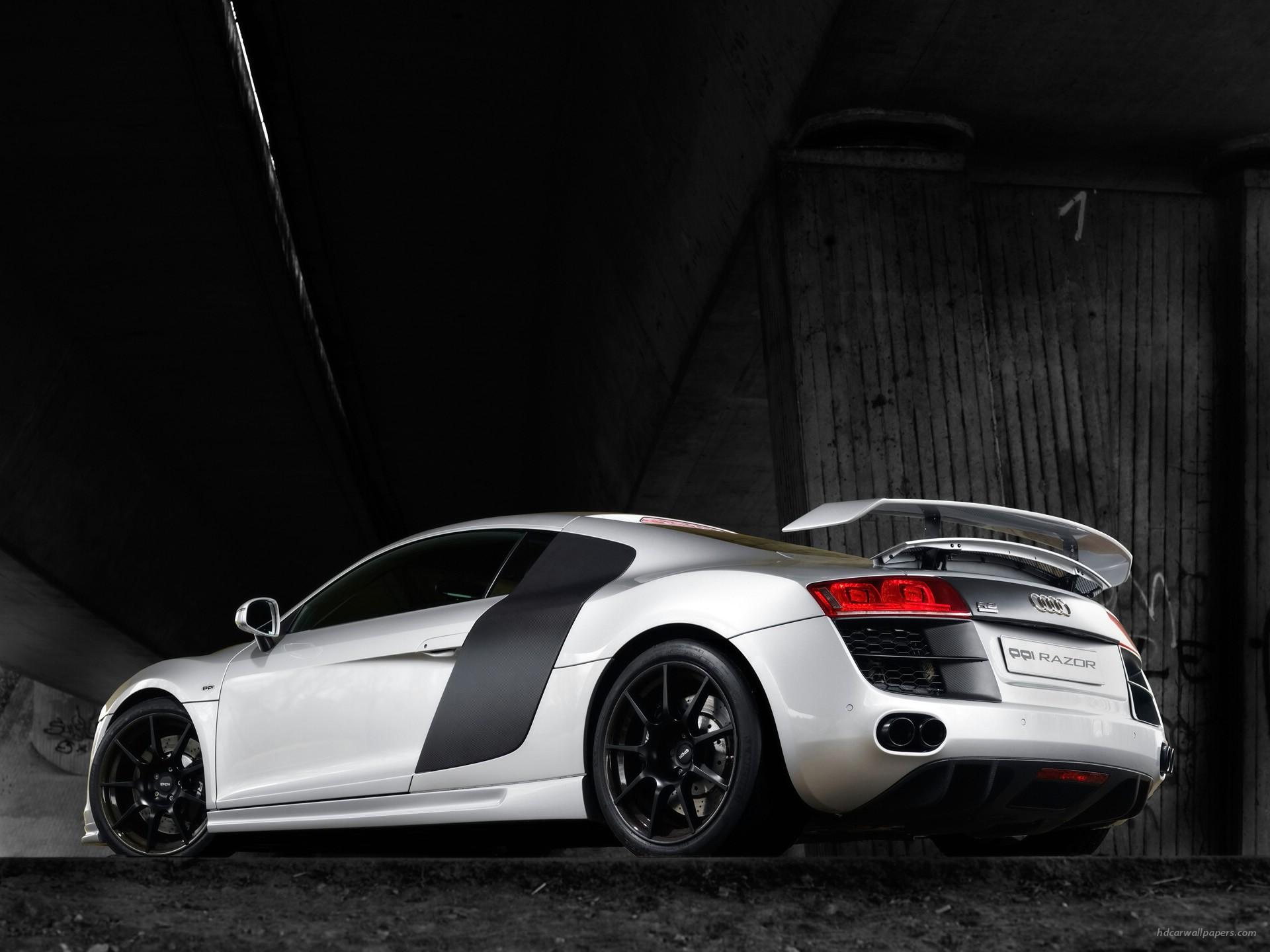HD Wallpapers 2008 PPI Audi R8 Razor Rear Side