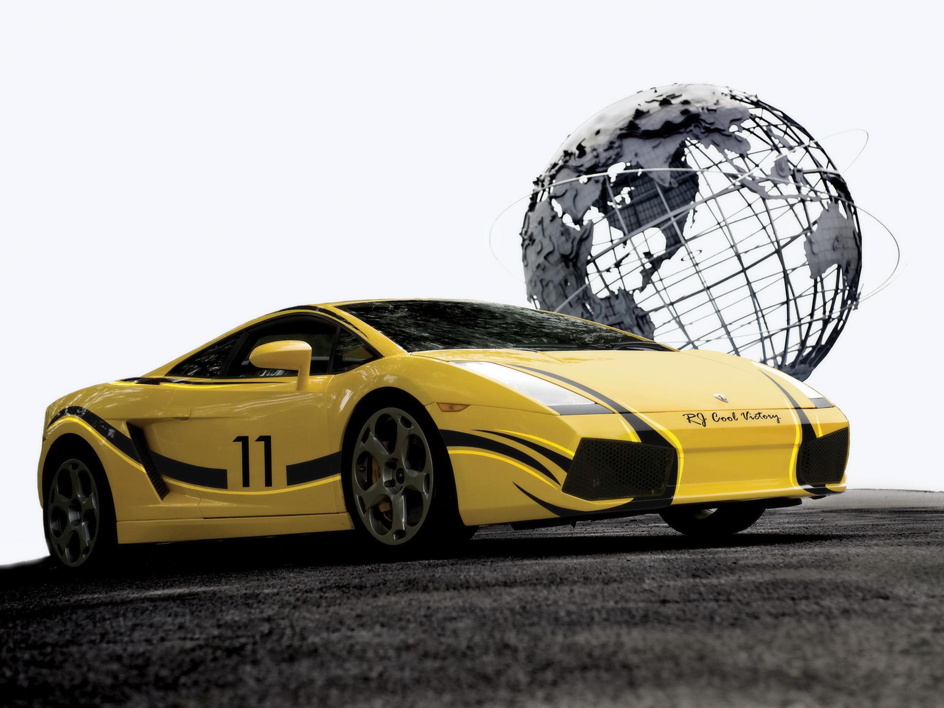HD Wallpapers 2009 Cool Victory Lamborghini Gallardo