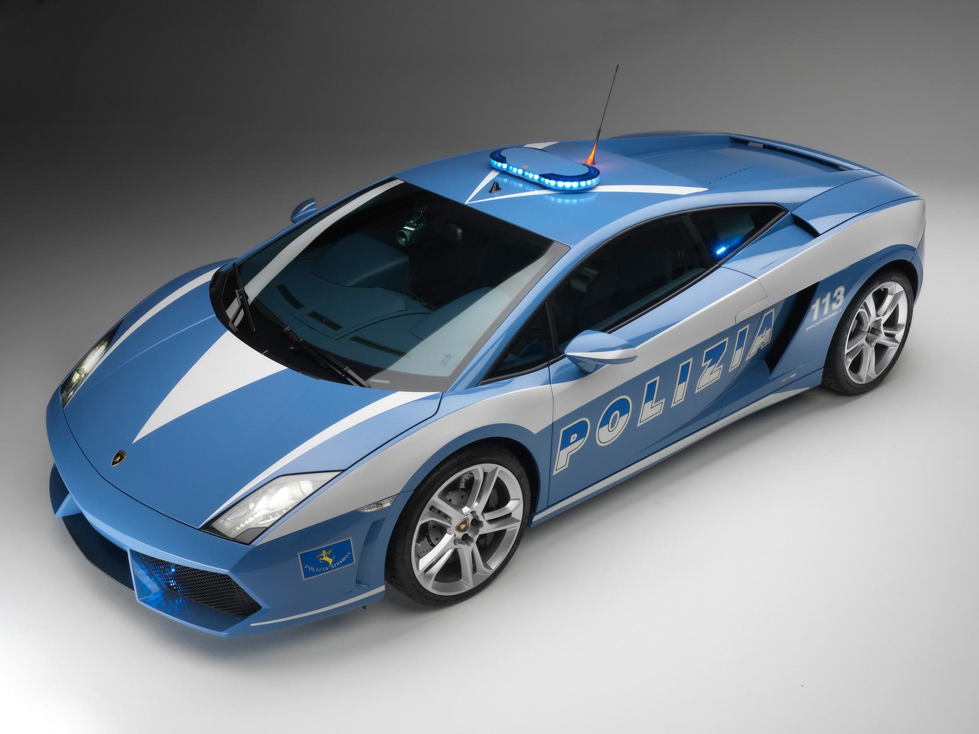 HD Wallpapers Lamborghini Gallardo Polizia