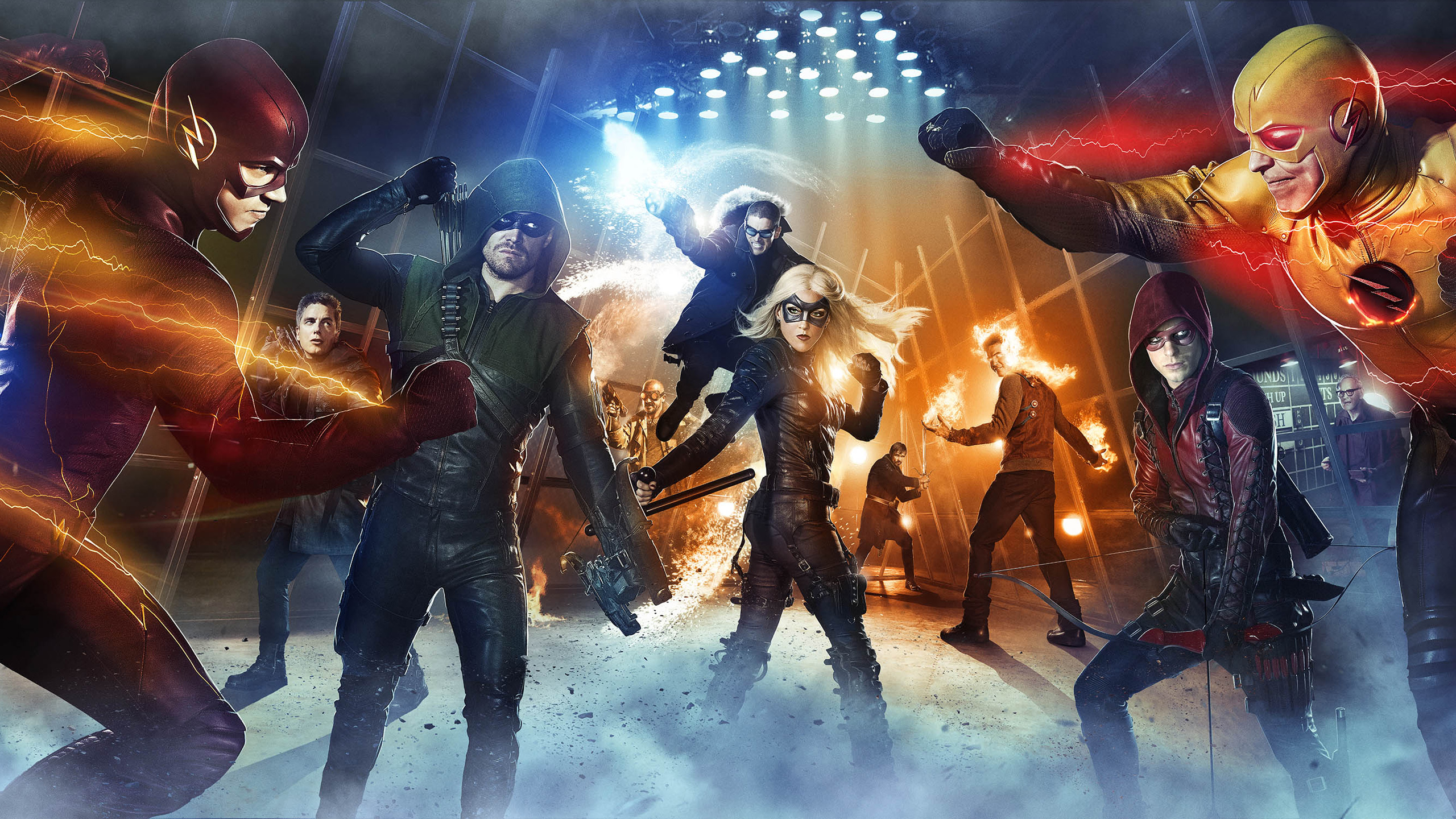 HD Wallpapers Arrow & The Flash