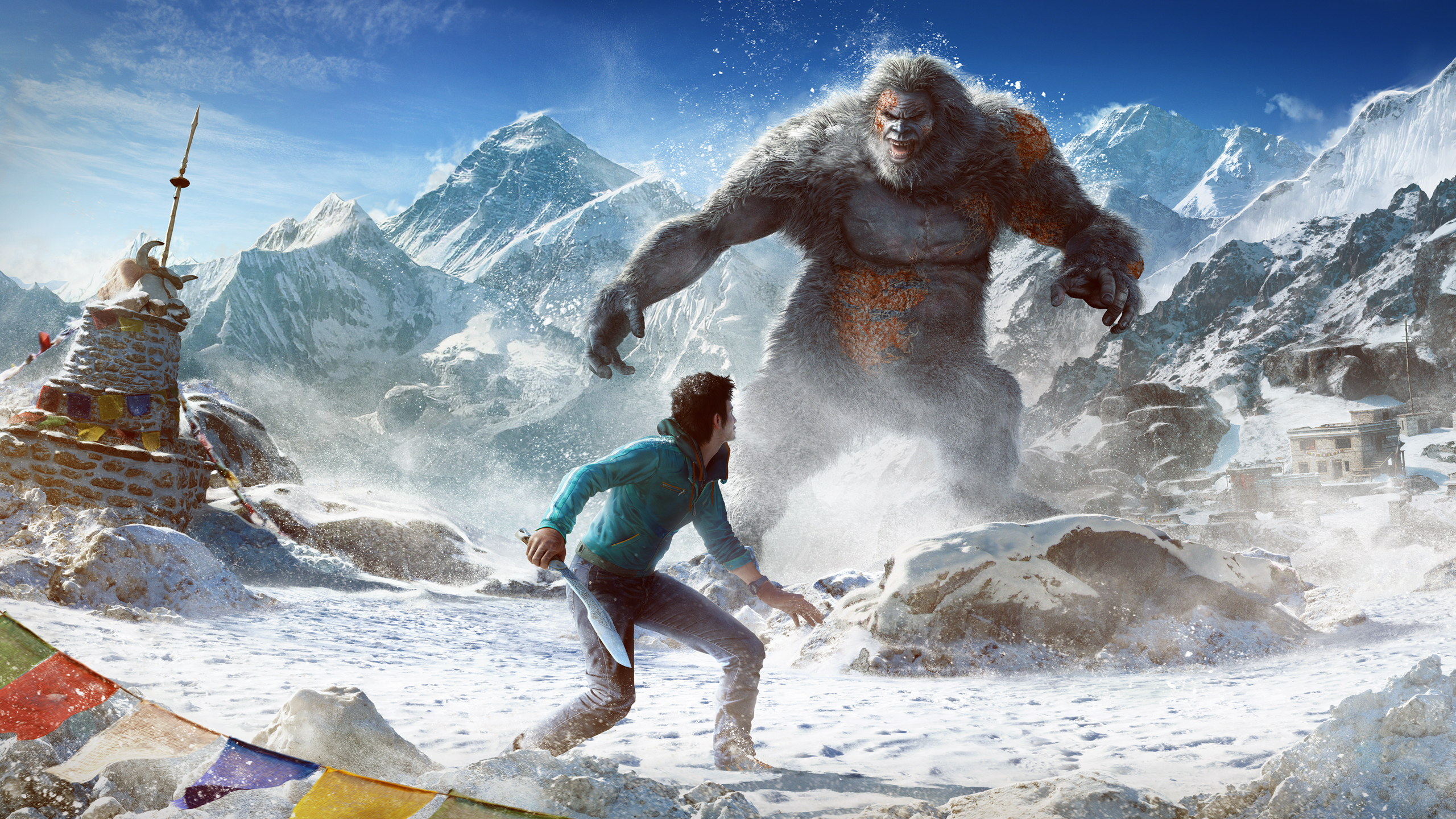 HD Wallpapers Far Cry 4 Valley of the Yetis