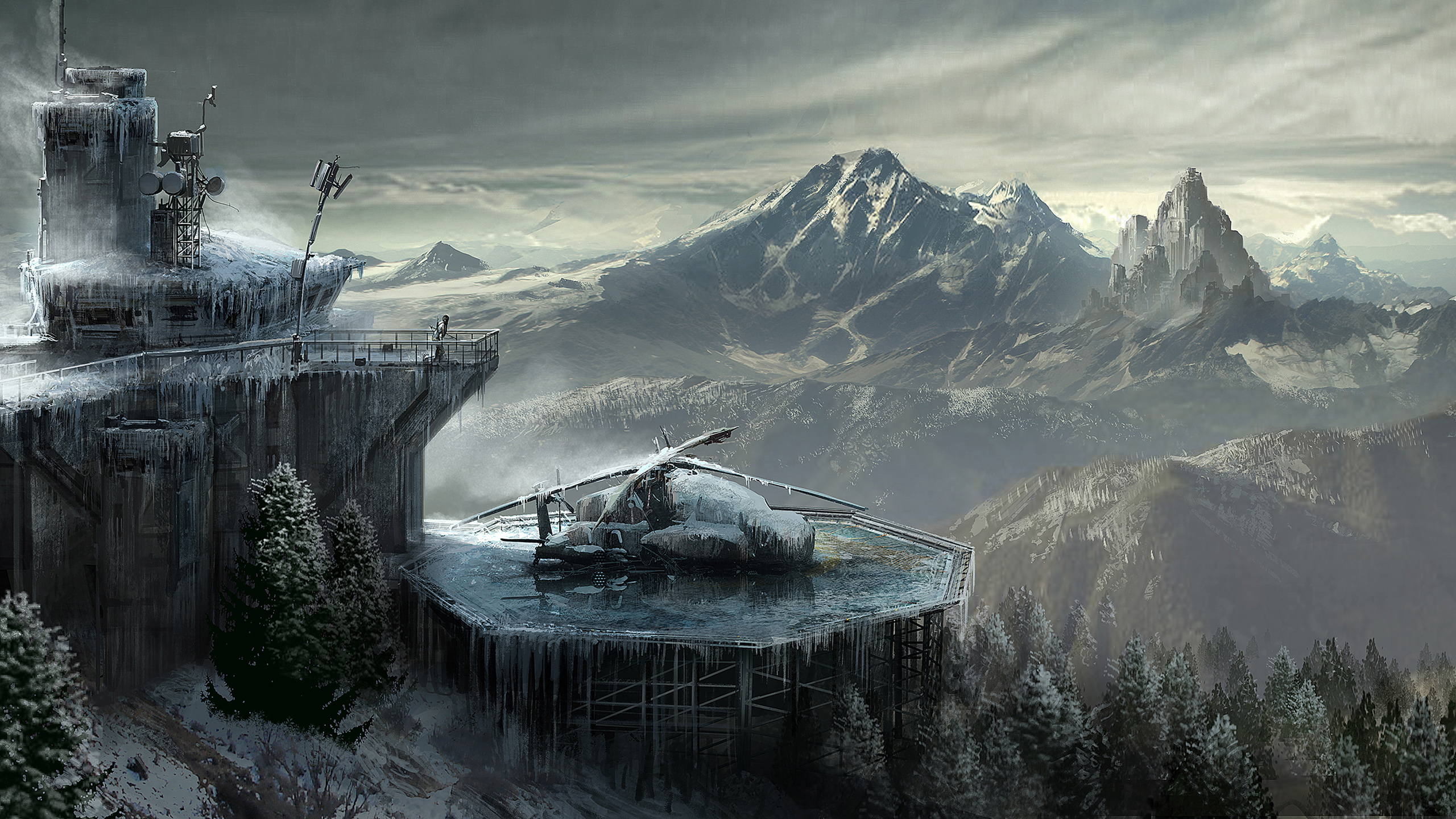 HD Wallpapers Rise Of The Tomb Raider Concept Art