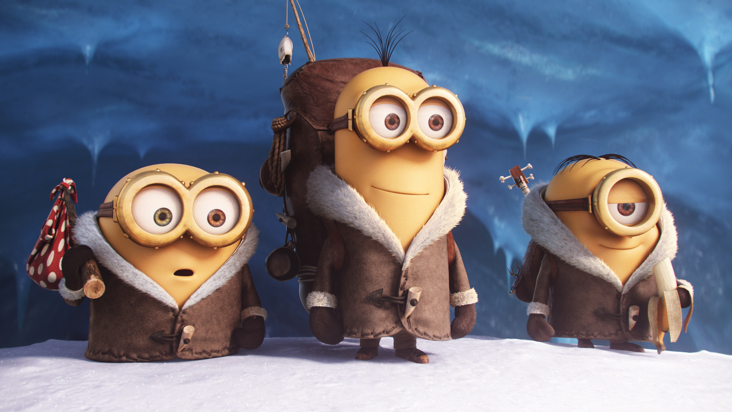 HD Wallpapers Snow Minions