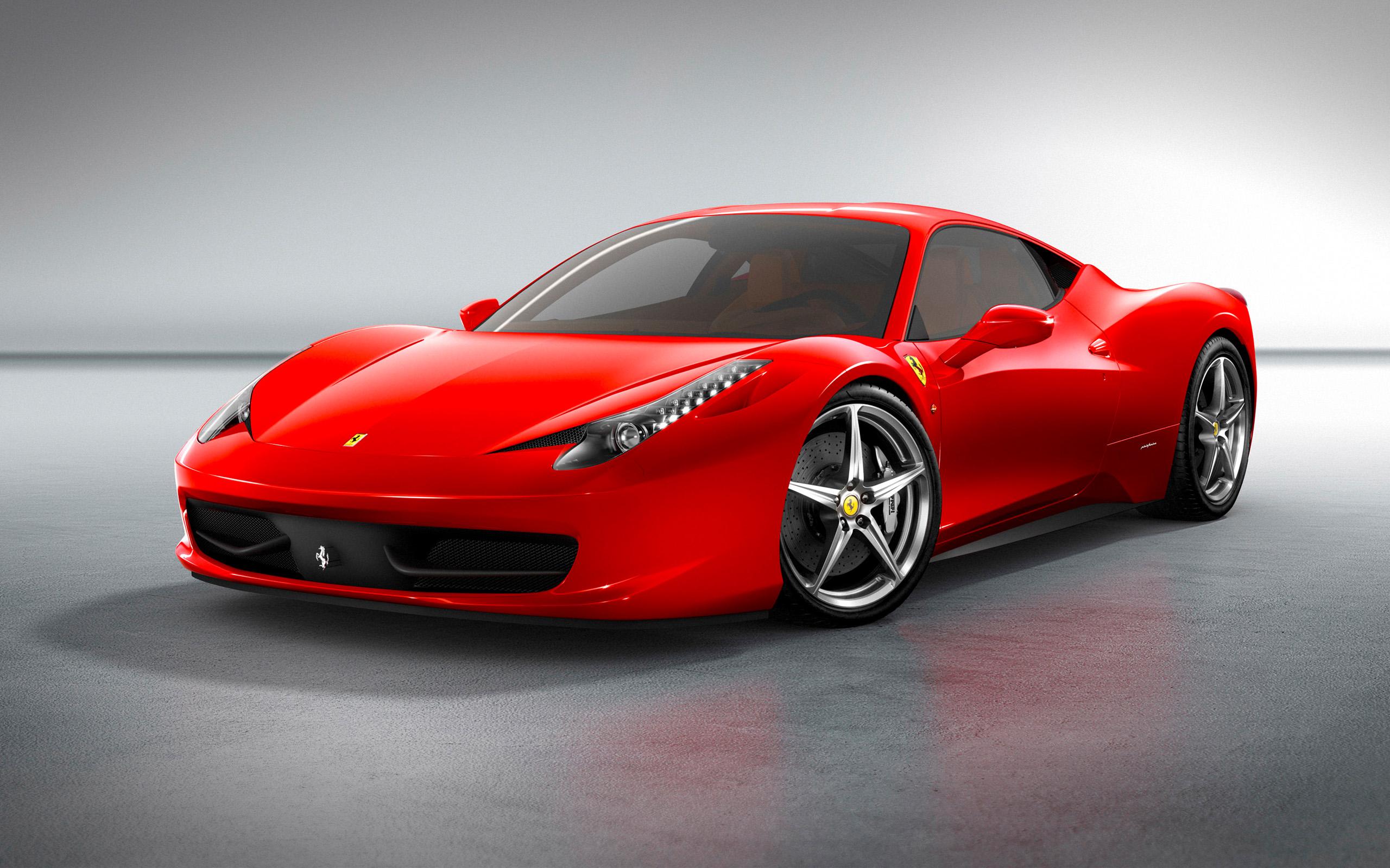 HD Wallpapers 2010 Ferrari 458 Italia