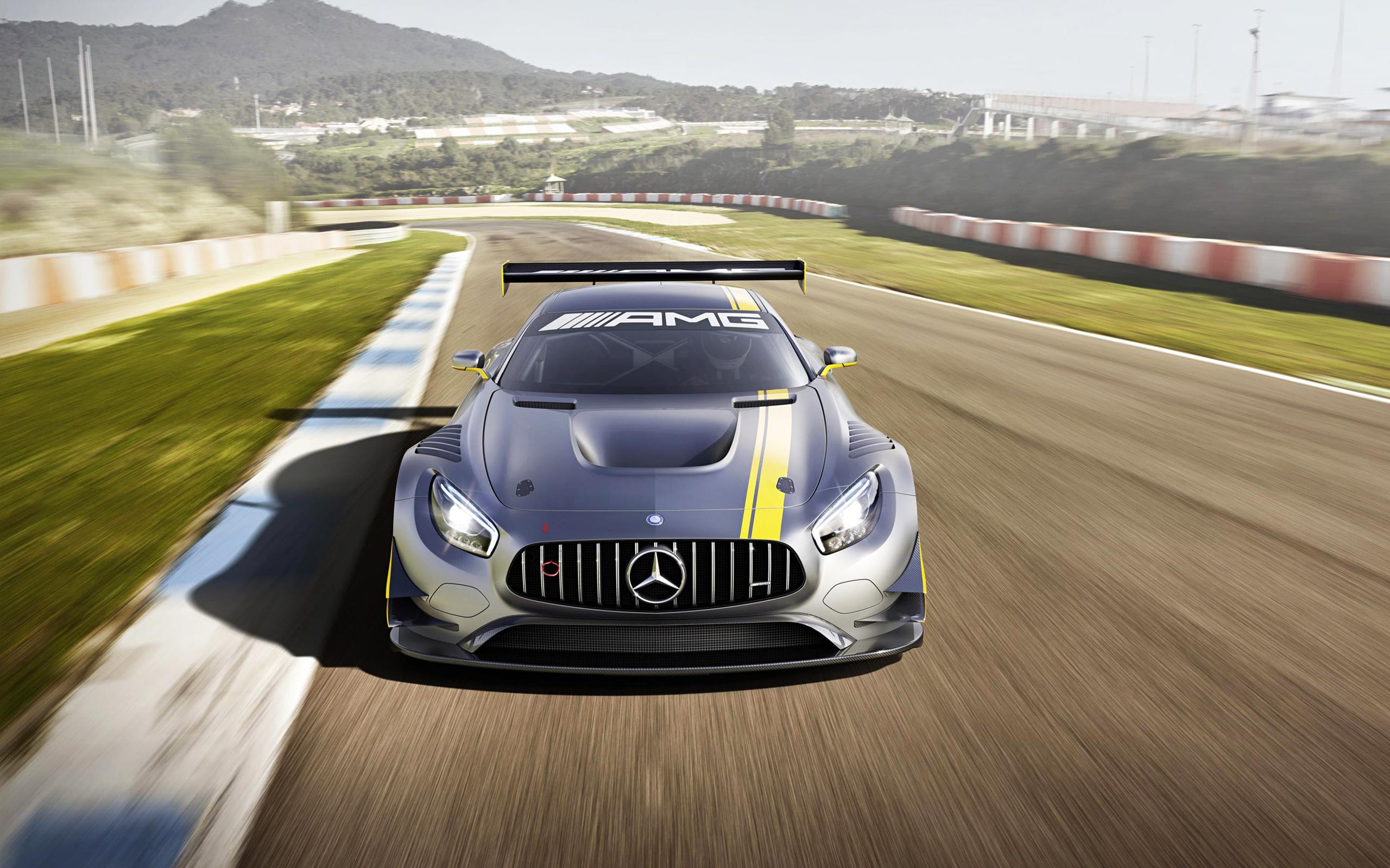 HD Wallpapers 2015 Mercedes Benz AMG GT3