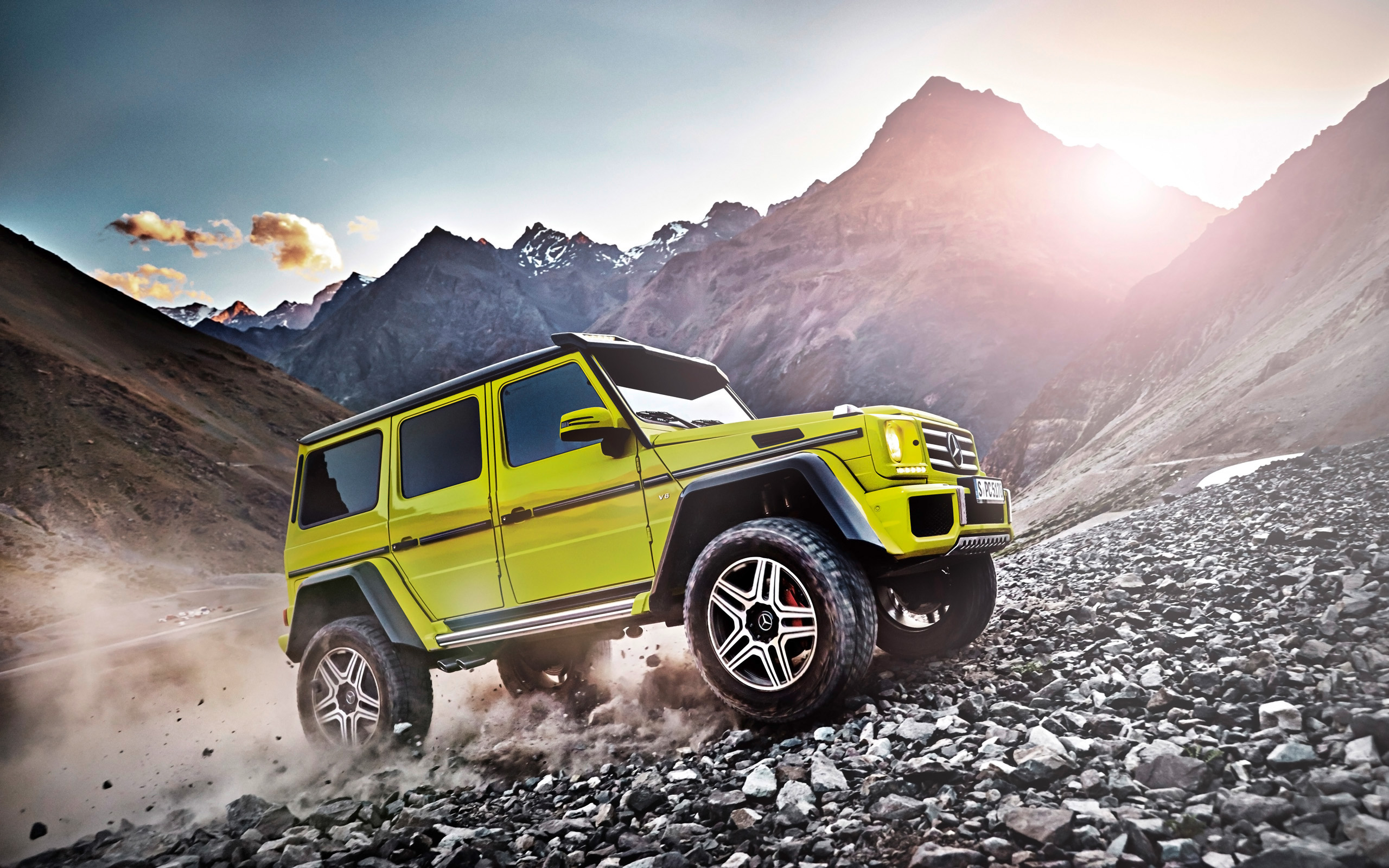 HD Wallpapers 2015 Mercedes Benz G500 4x4