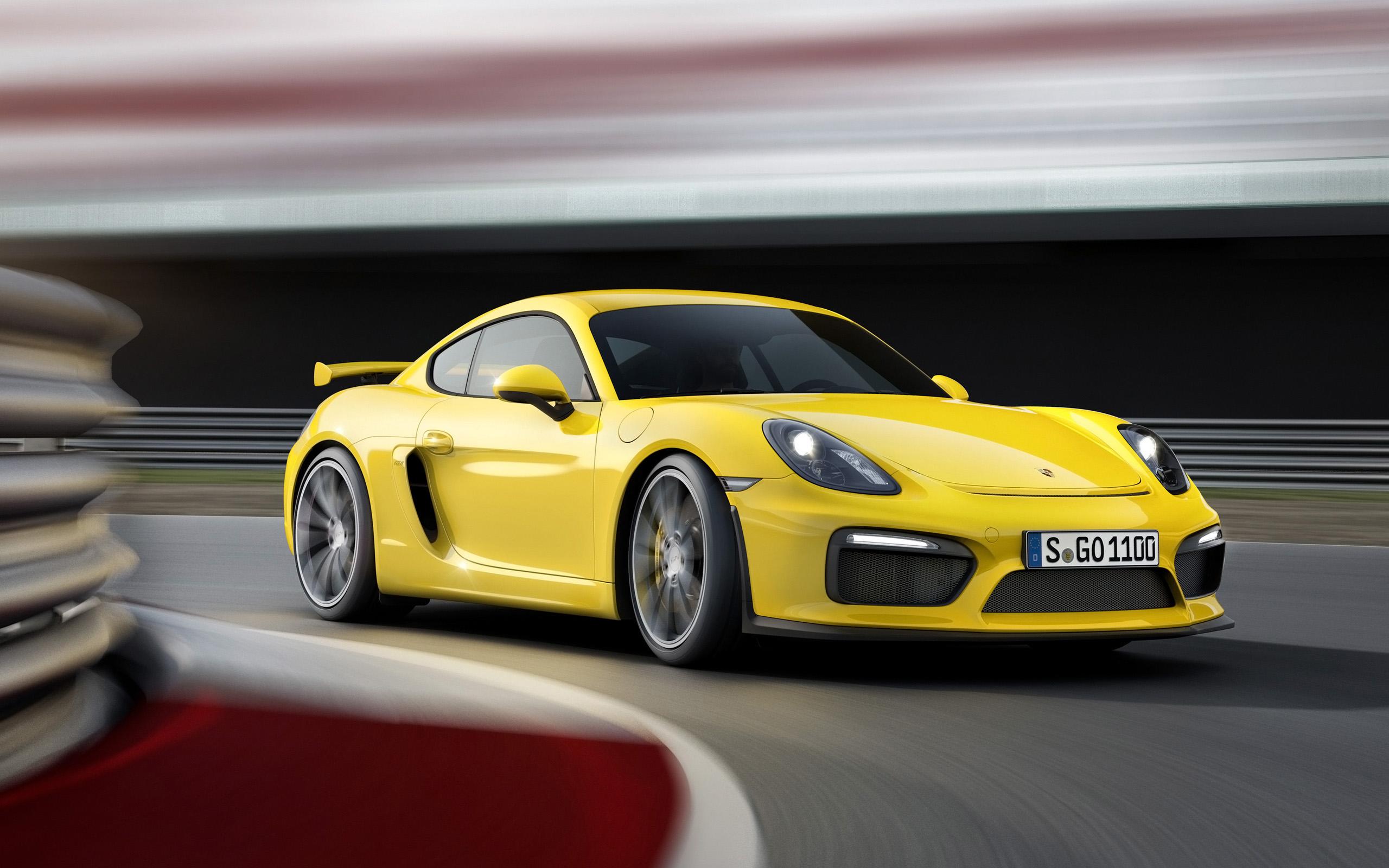 HD Wallpapers 2015 Porsche Cayman GT4