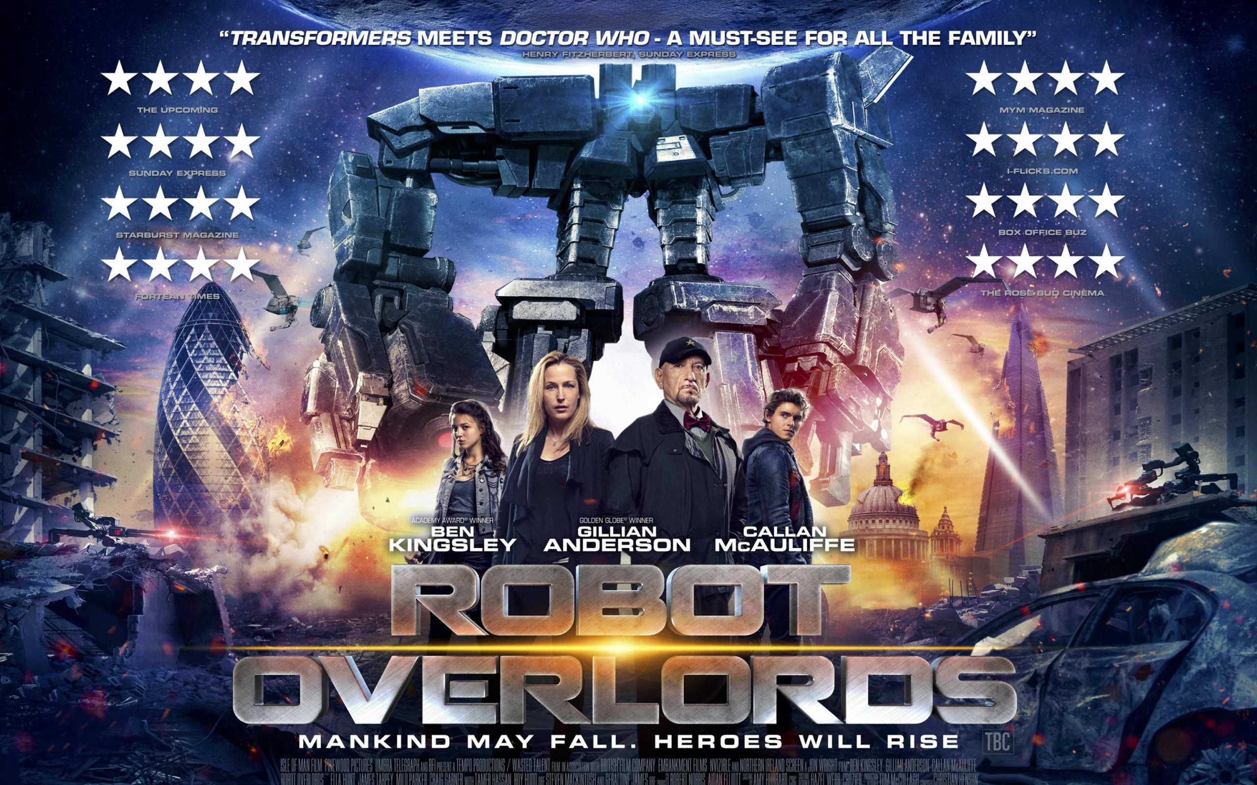 HD Wallpapers 2015 Robot Overlords Movie
