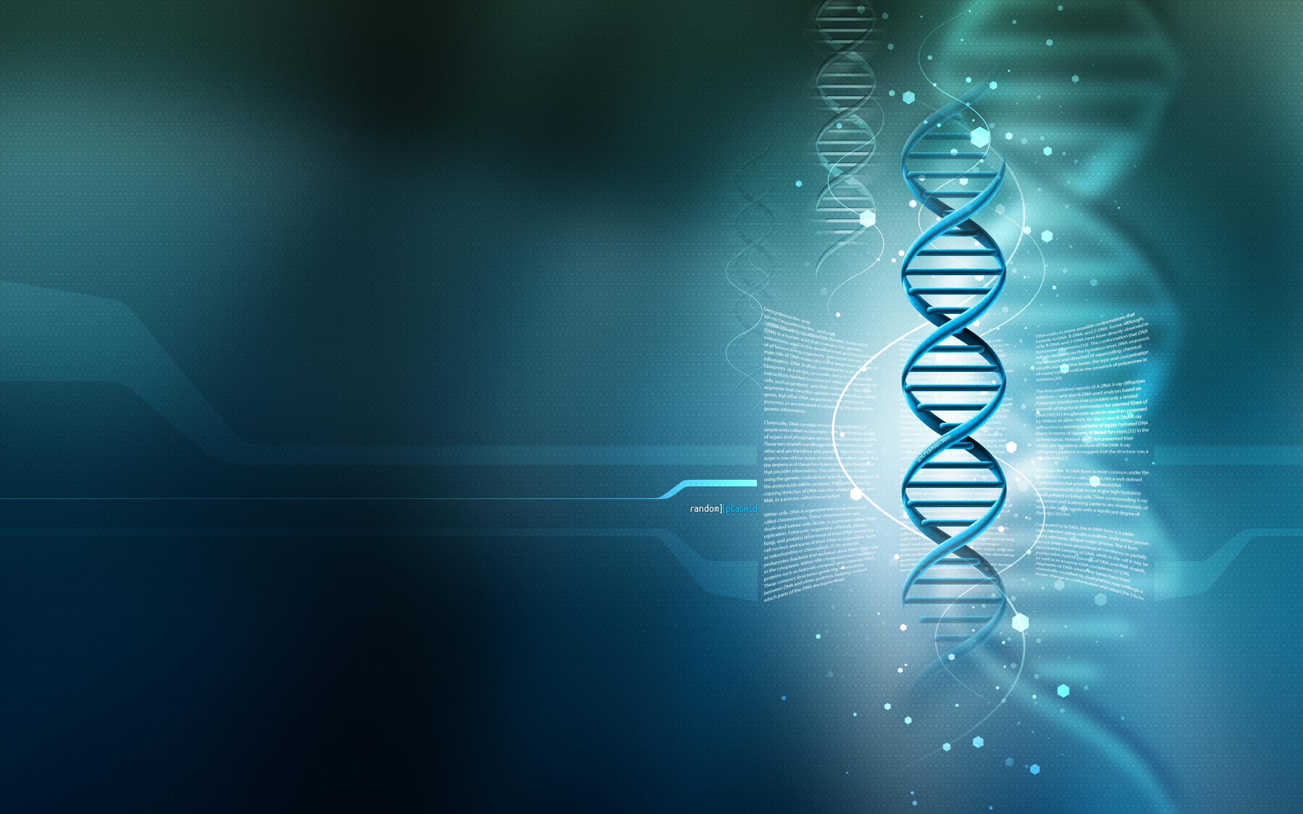 HD Wallpapers 3D DNA