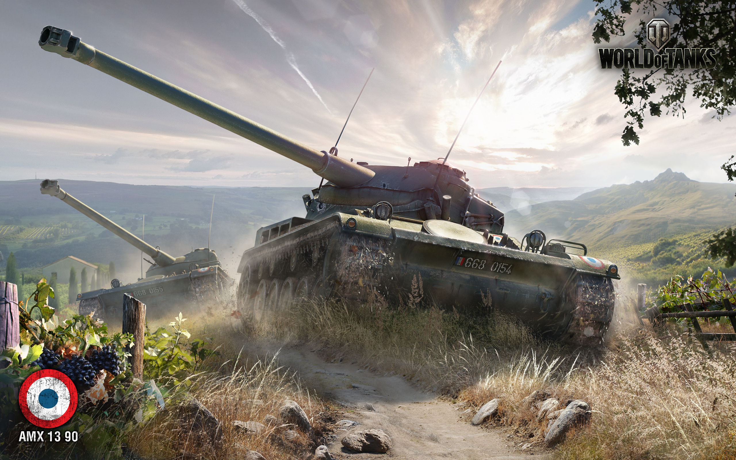 HD Wallpapers AMX 13 90 World of Tanks
